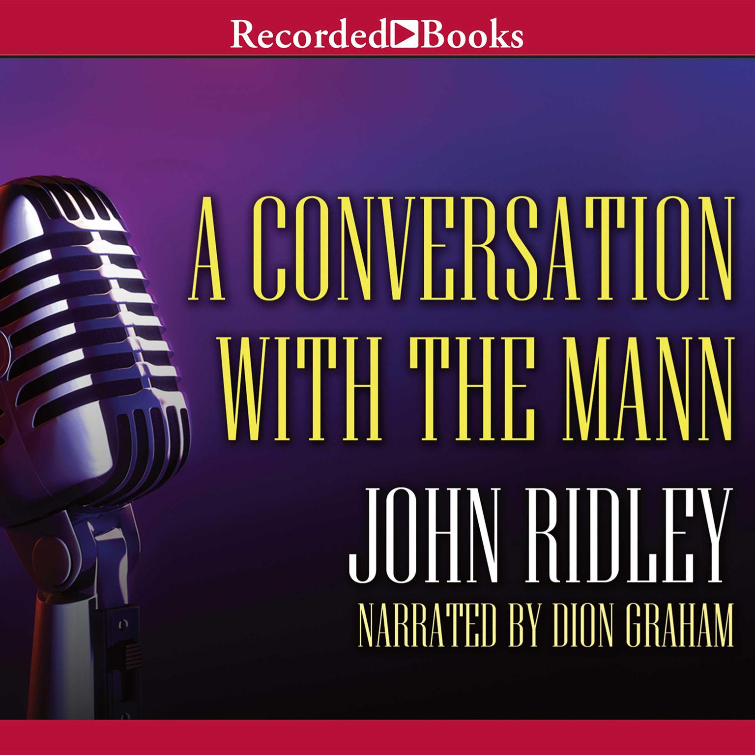 Printable A Conversation with the Mann Audiobook Cover Art