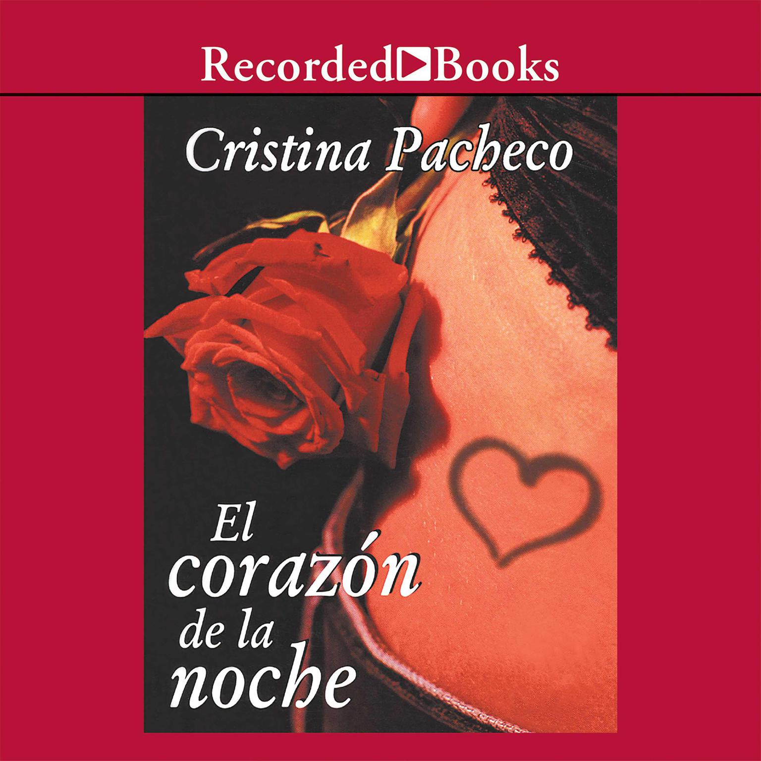 Printable corazon de la noche, El Audiobook Cover Art