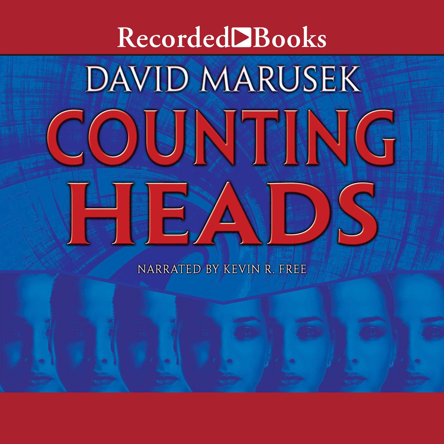 Printable Counting Heads Audiobook Cover Art