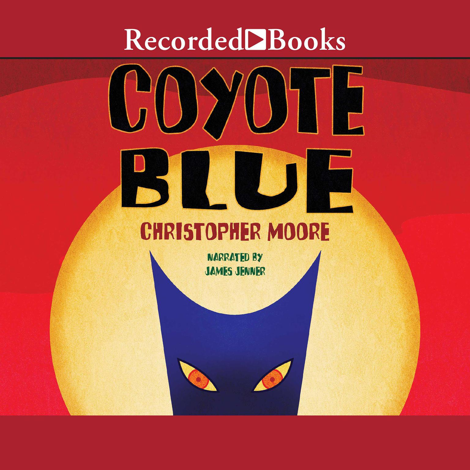 Printable Coyote Blue Audiobook Cover Art