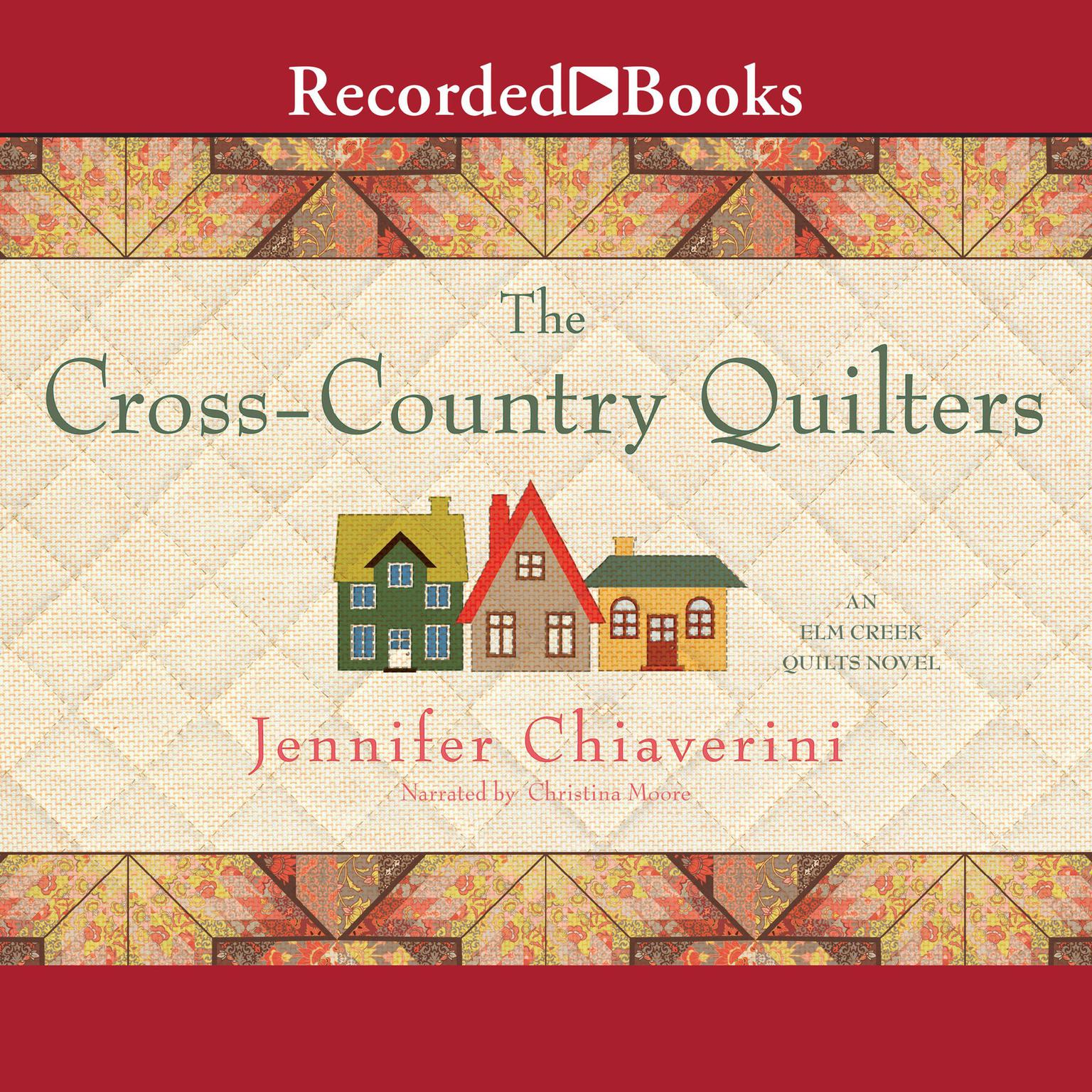 Printable The Cross Country Quilters Audiobook Cover Art