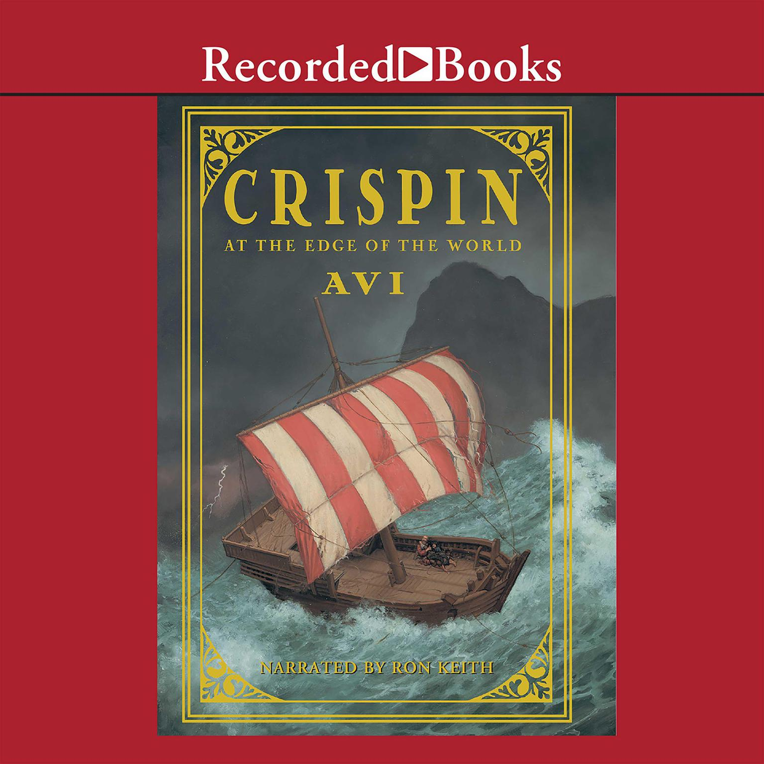 Printable Crispin, At the Edge of the World Audiobook Cover Art