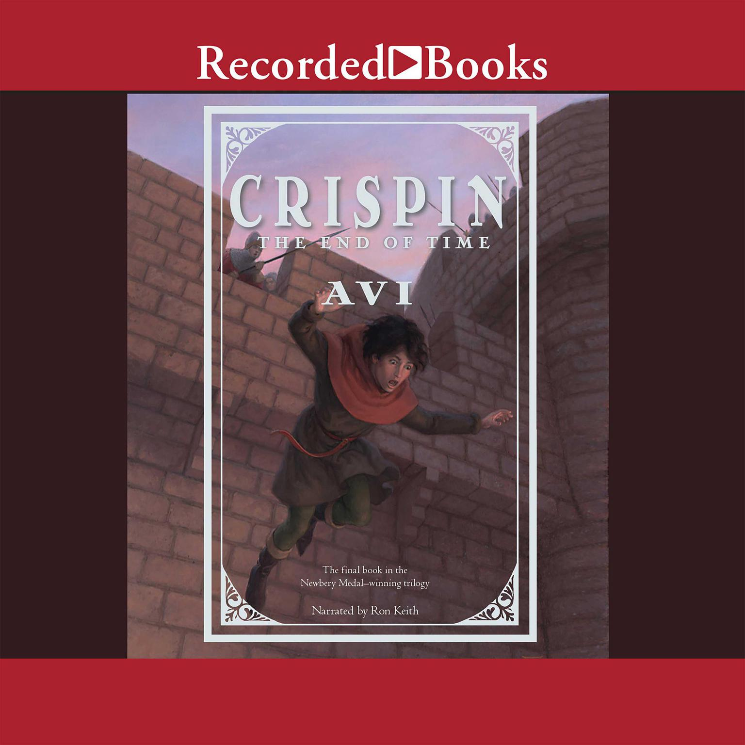 Printable Crispin: The End of Time Audiobook Cover Art