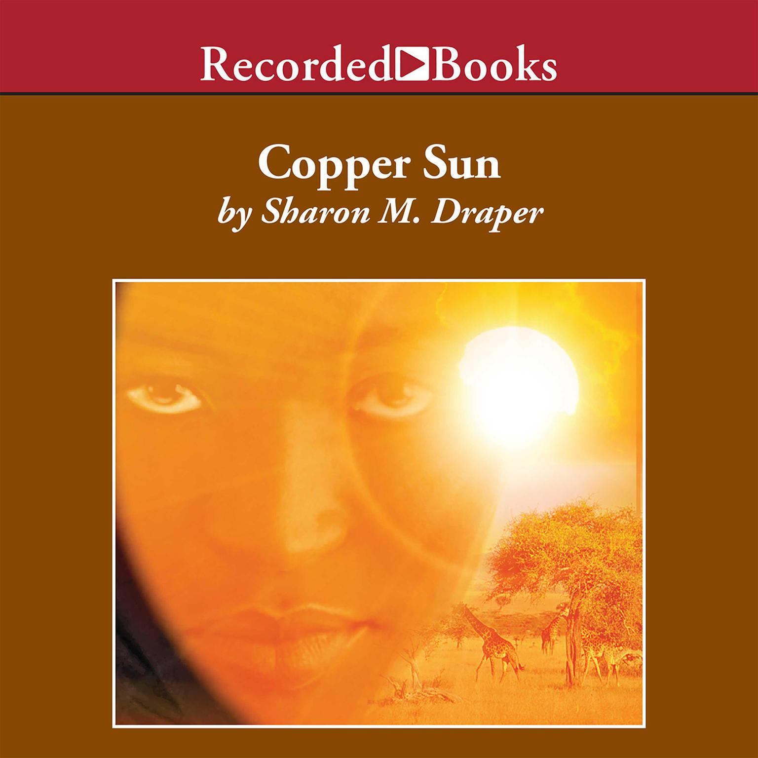 Printable Copper Sun Audiobook Cover Art