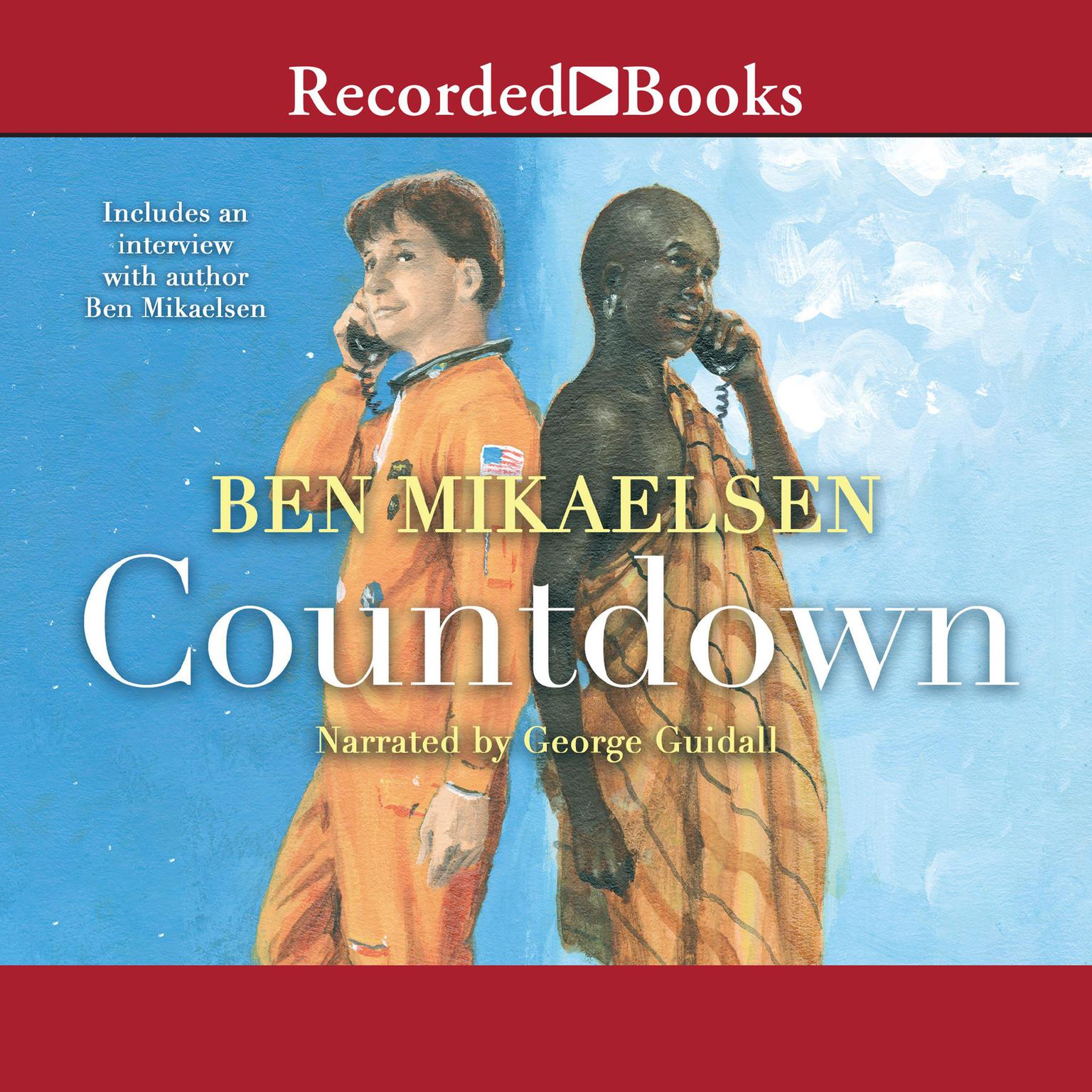 Printable Countdown Audiobook Cover Art