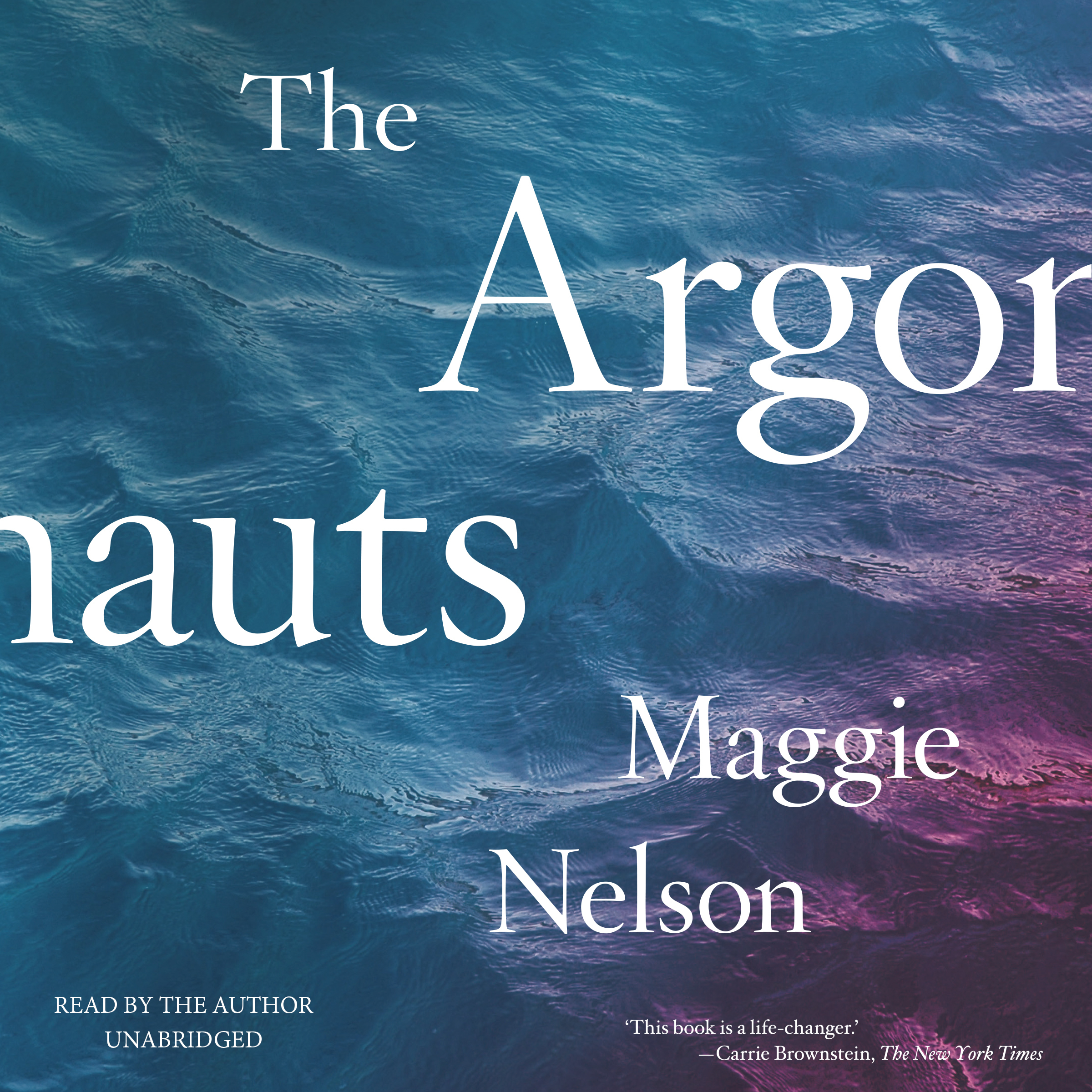 Printable The Argonauts Audiobook Cover Art