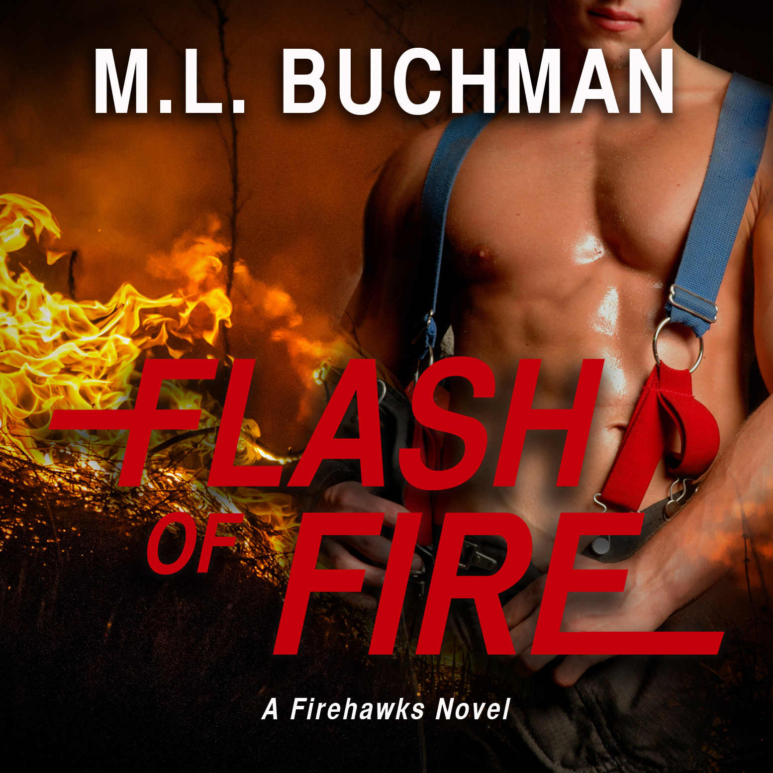 Printable Flash of Fire Audiobook Cover Art