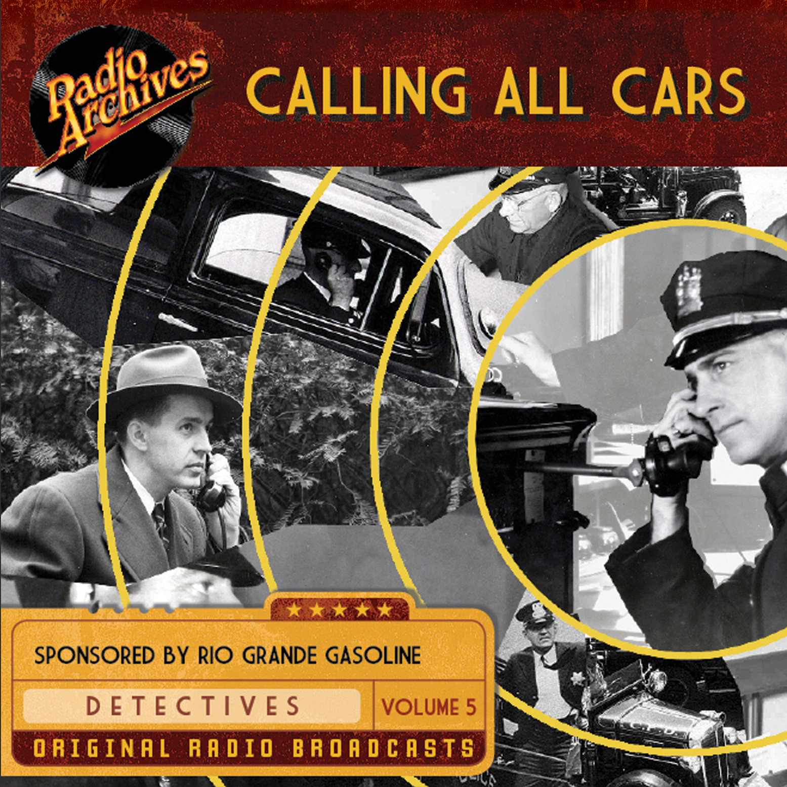 Printable Calling All Cars, Volume 5 Audiobook Cover Art