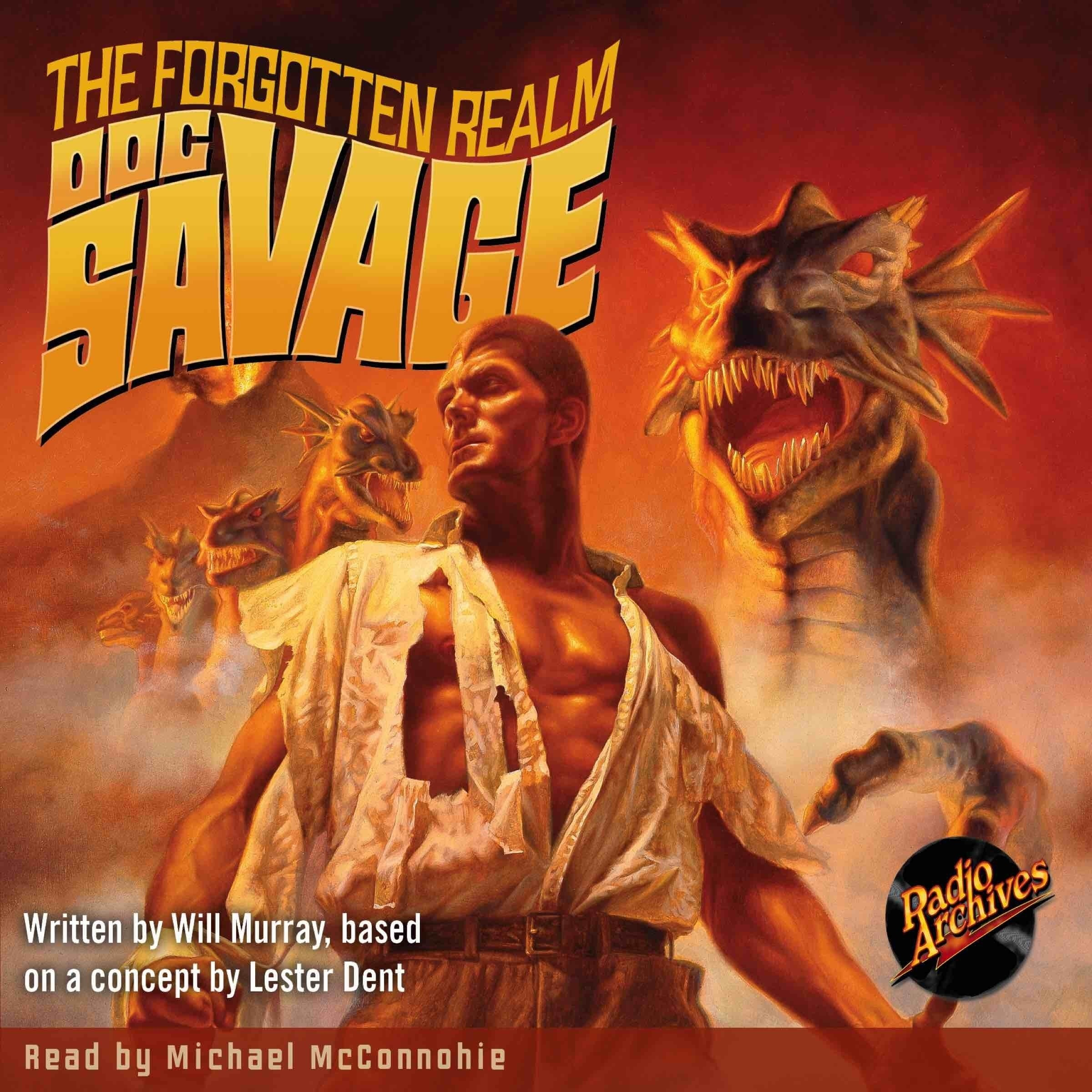 Printable Doc Savage #5: The Forgotten Realm Audiobook Cover Art