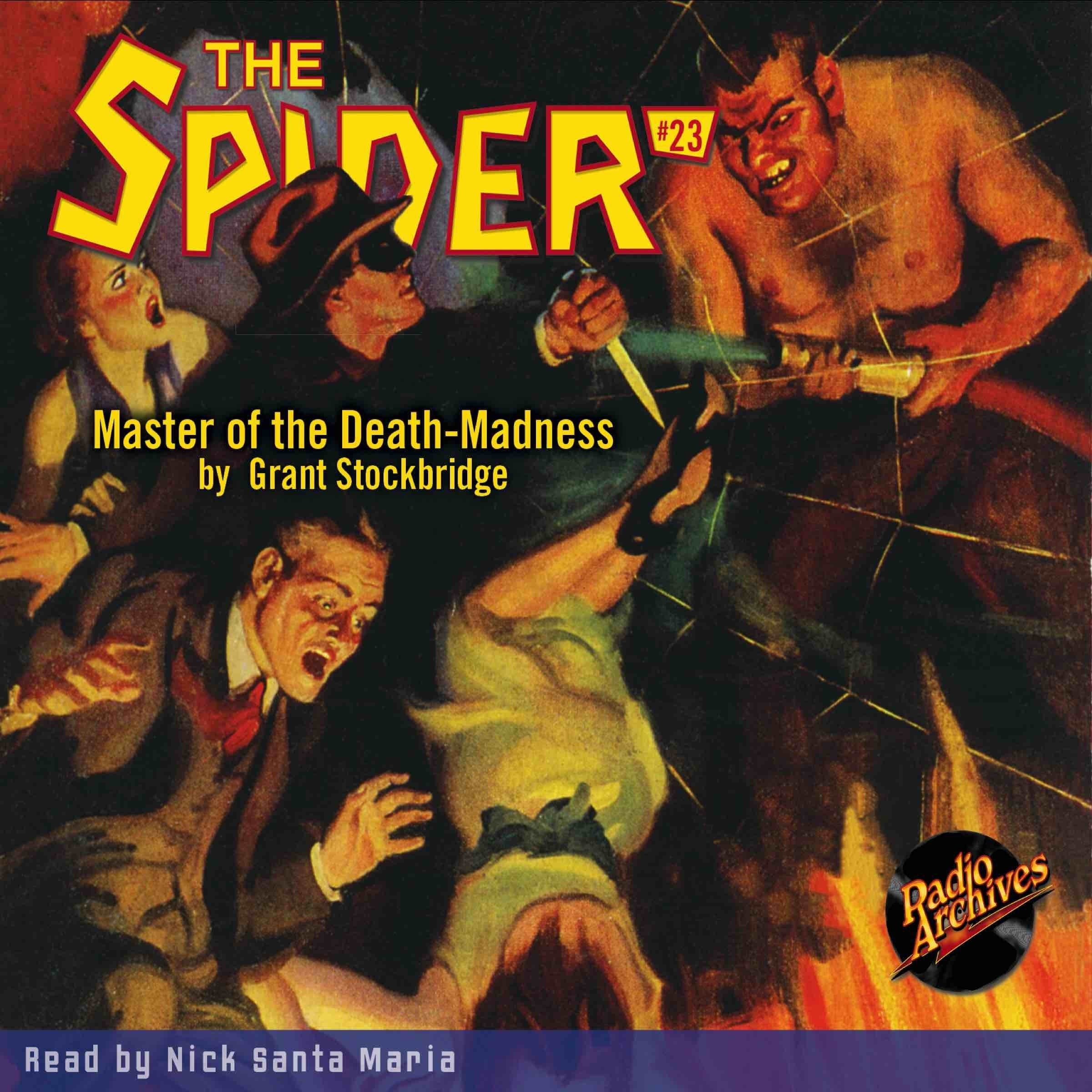 Printable Spider #23, The: Master of the Death-Madness Audiobook Cover Art