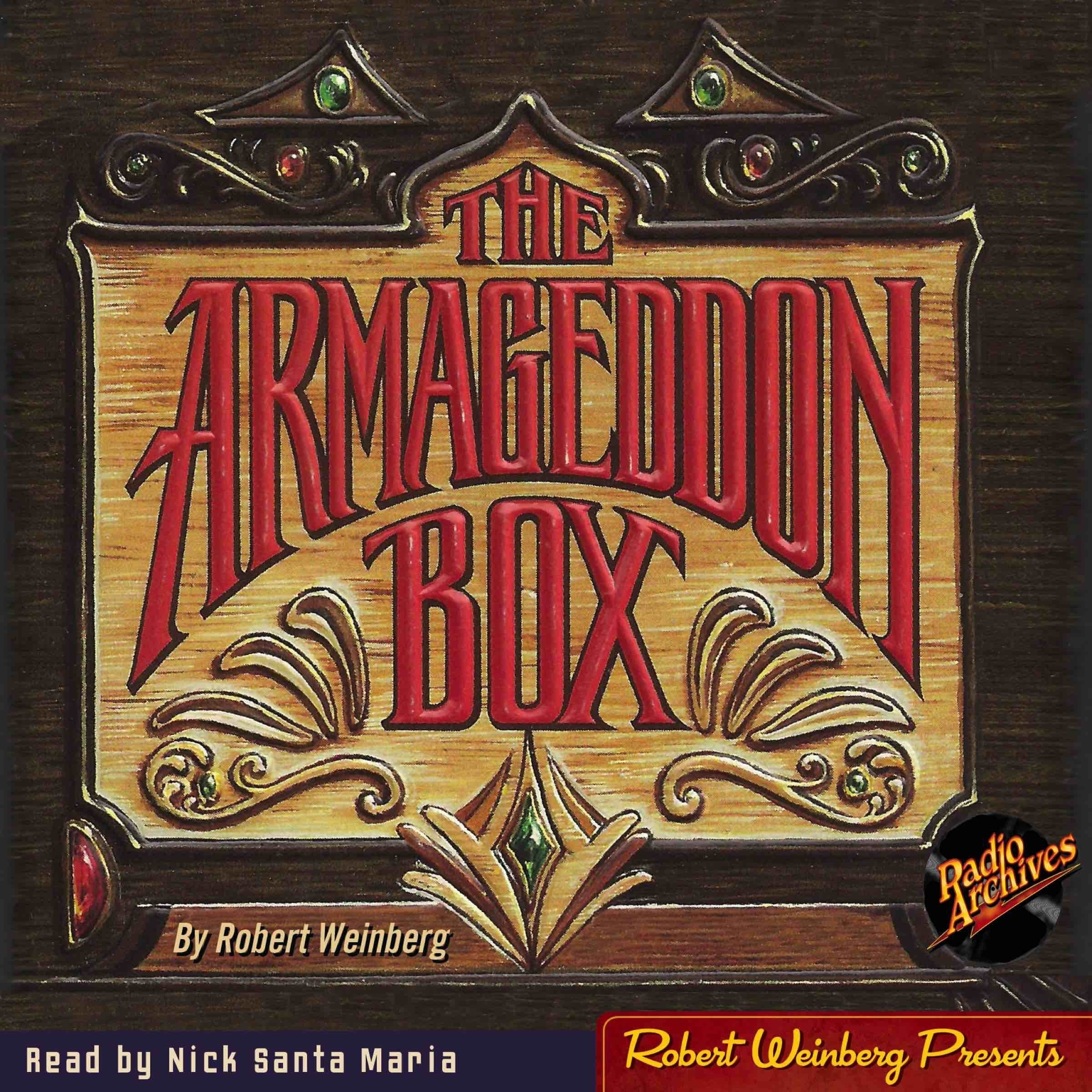 Printable The Armageddon Box Audiobook Cover Art