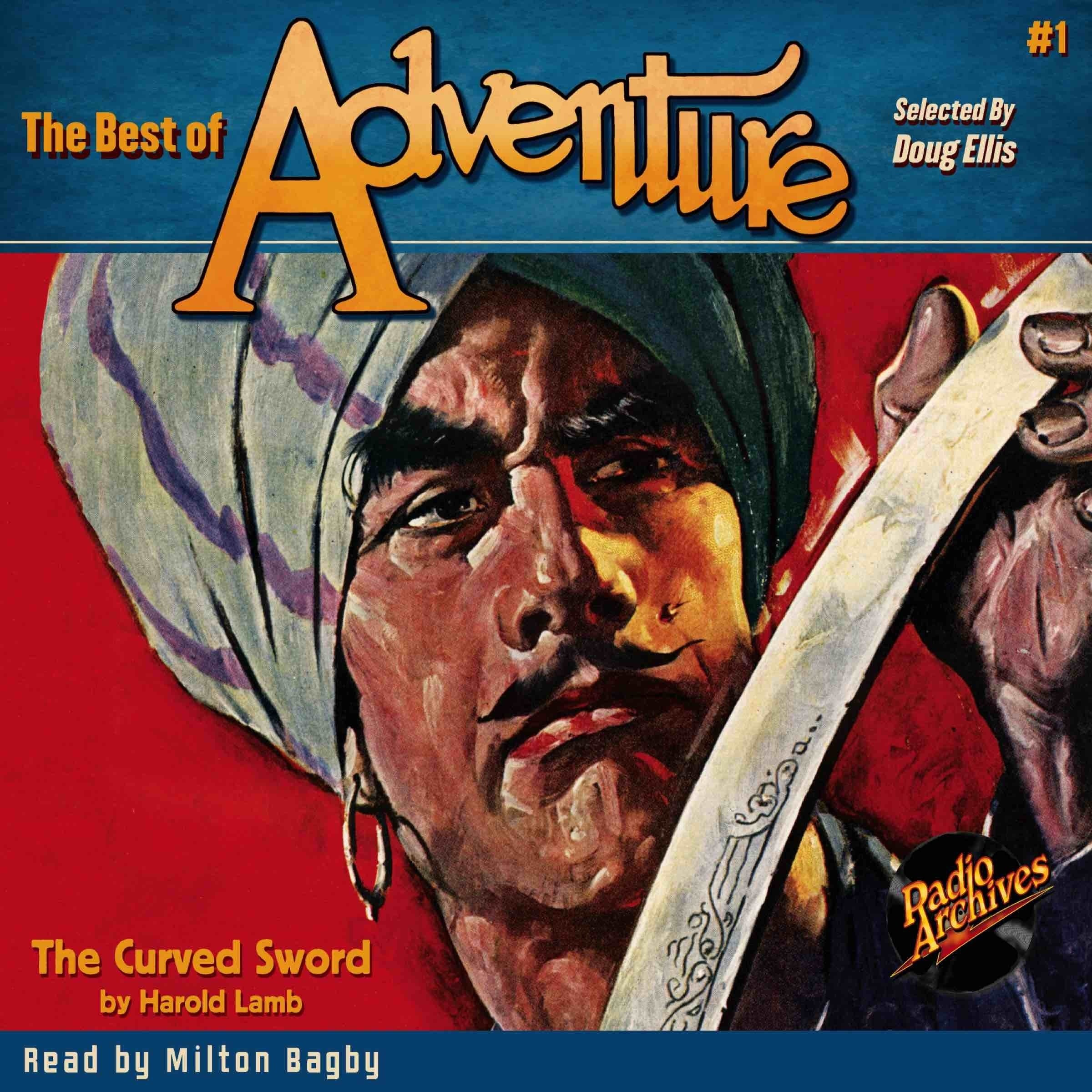 Printable The Best of Adventure #1: The Curved Sword Audiobook Cover Art