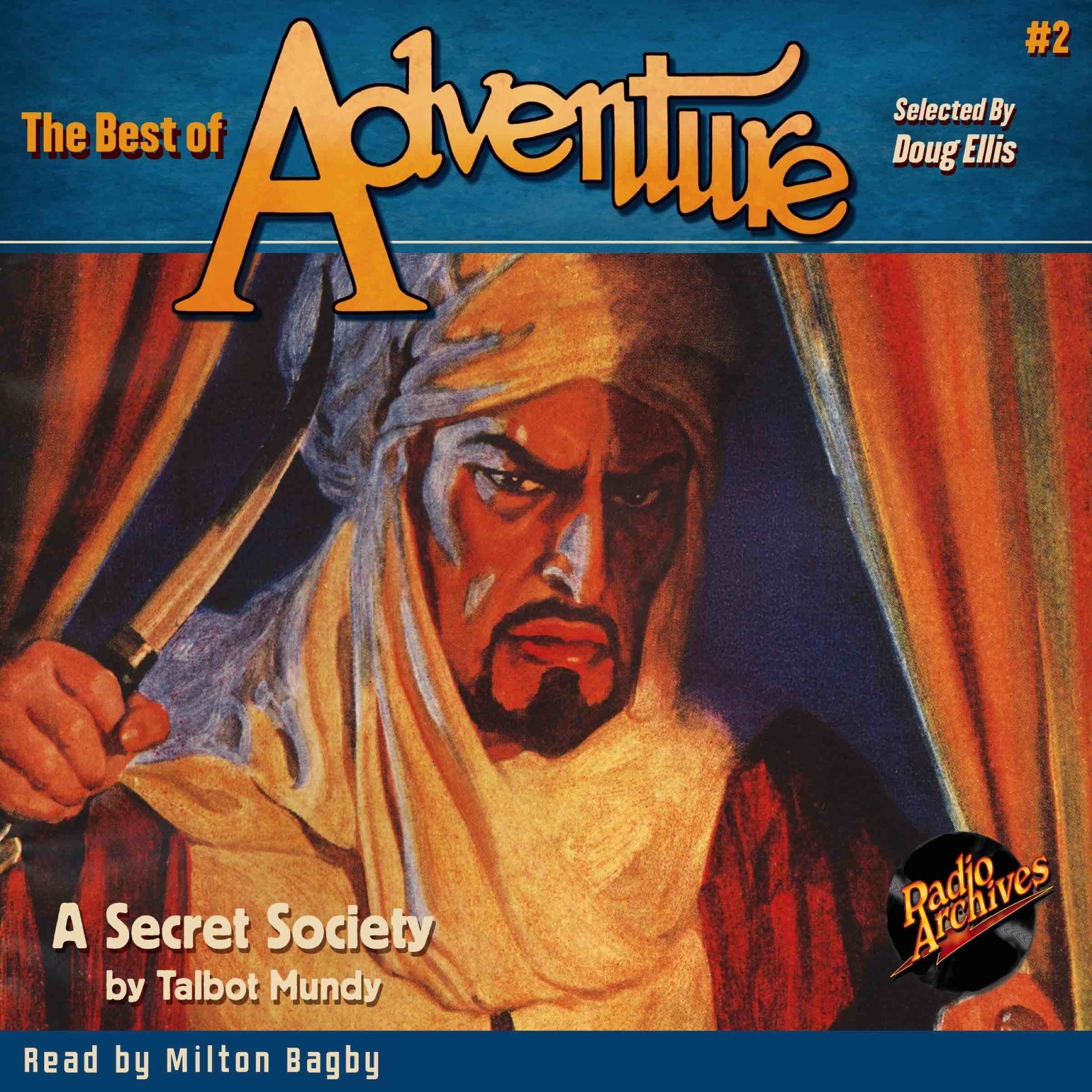 Printable The Best of Adventure #2: A Secret Society Audiobook Cover Art