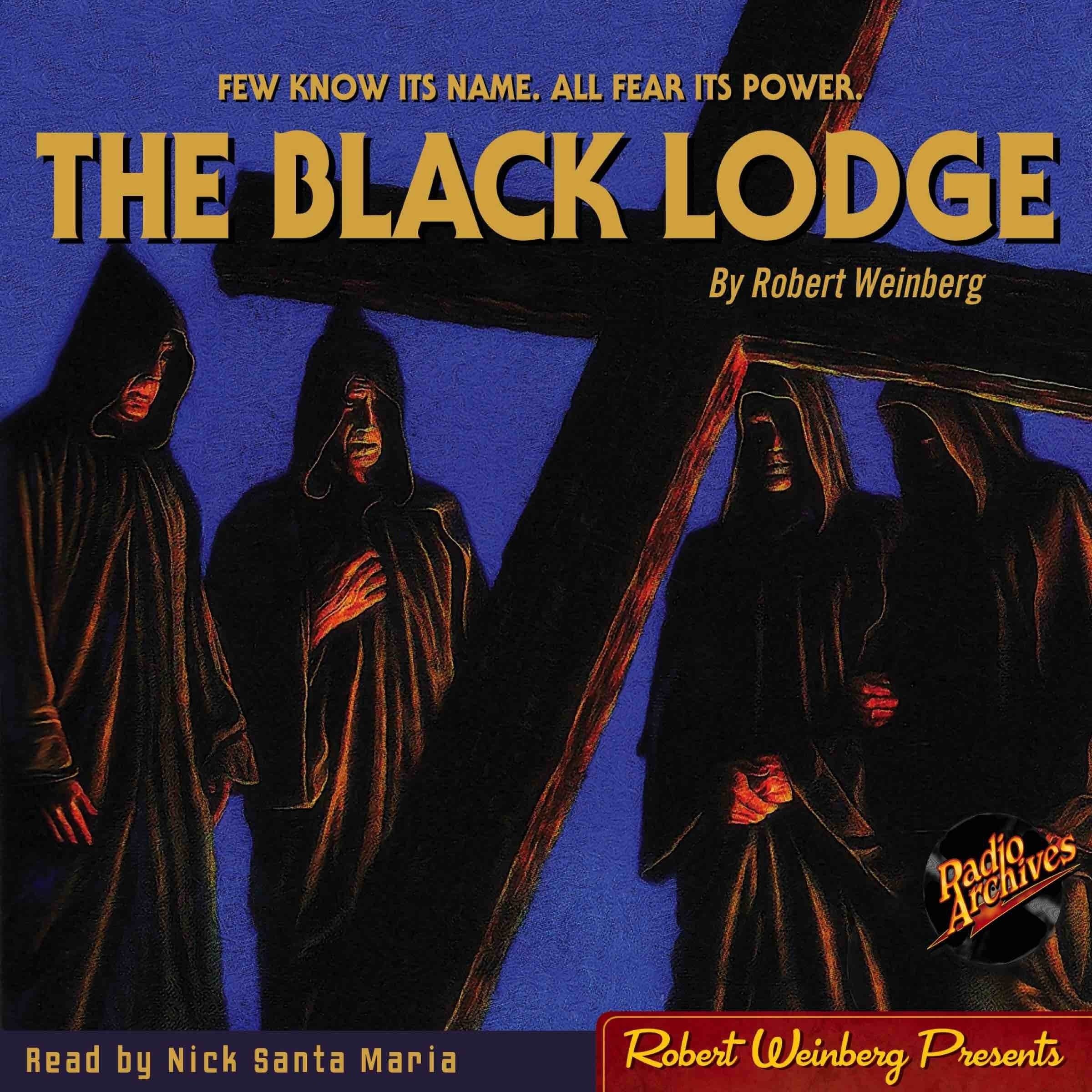 Printable The Black Lodge Audiobook Cover Art