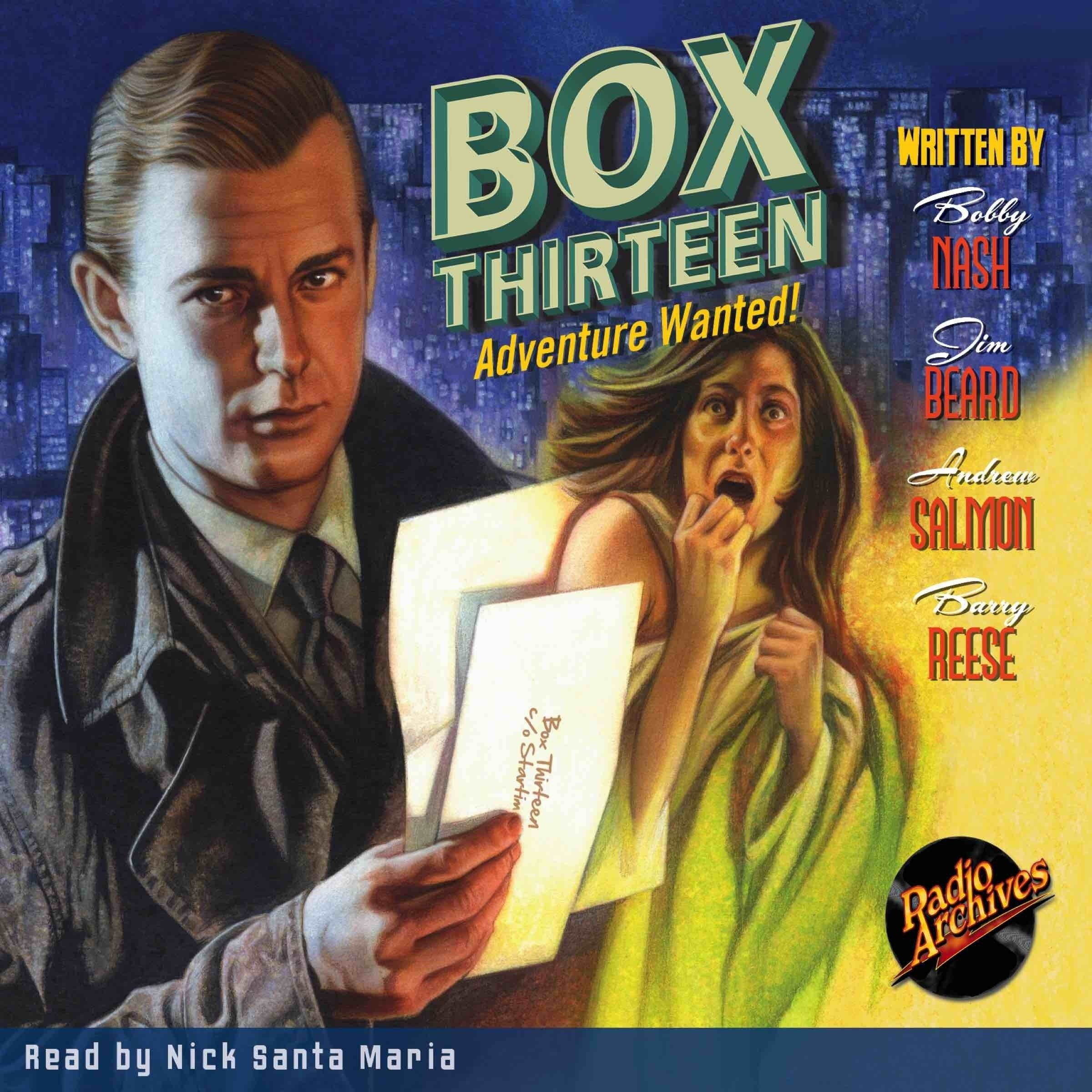 Printable Box Thirteen Audiobook Cover Art