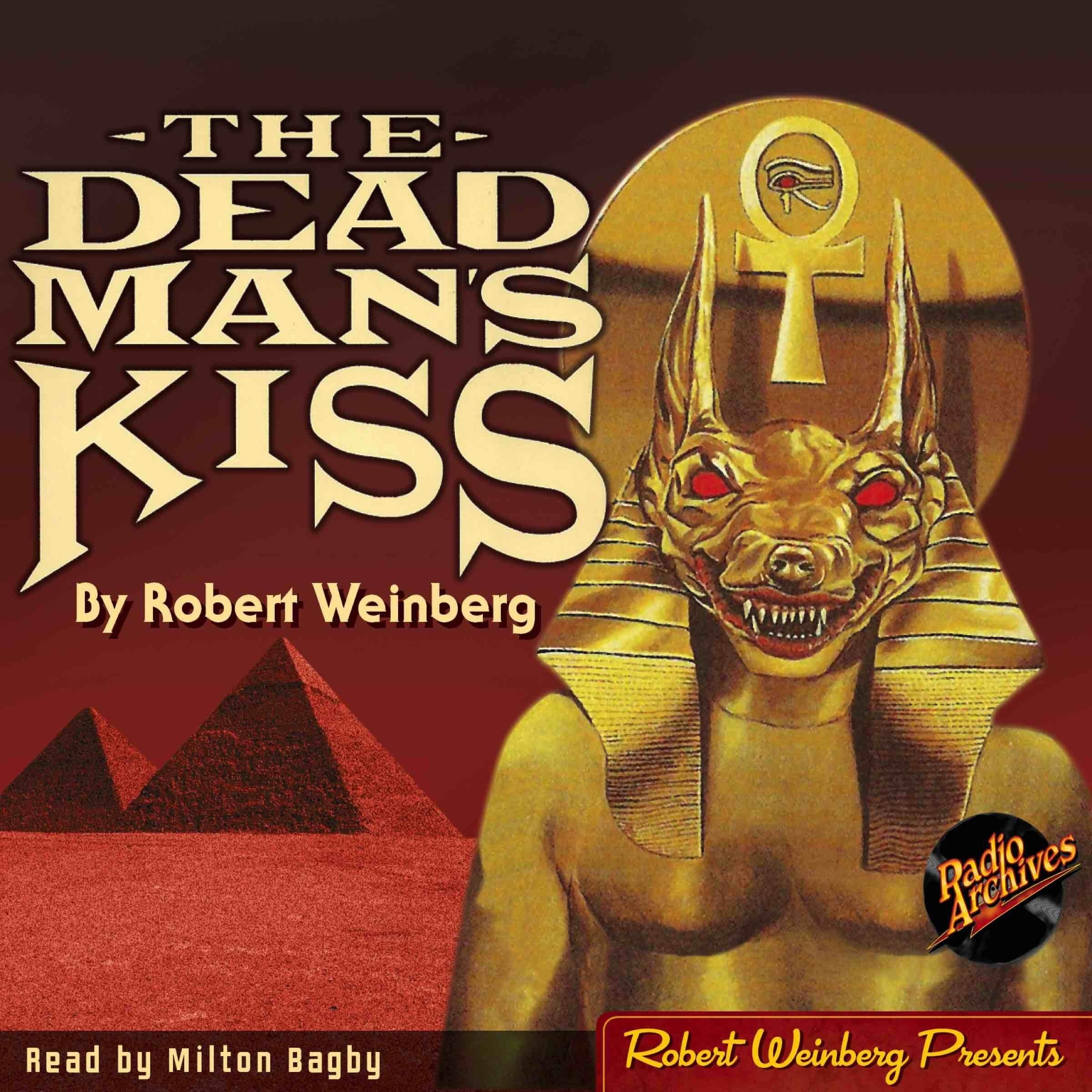 Printable The Dead Man's Kiss Audiobook Cover Art