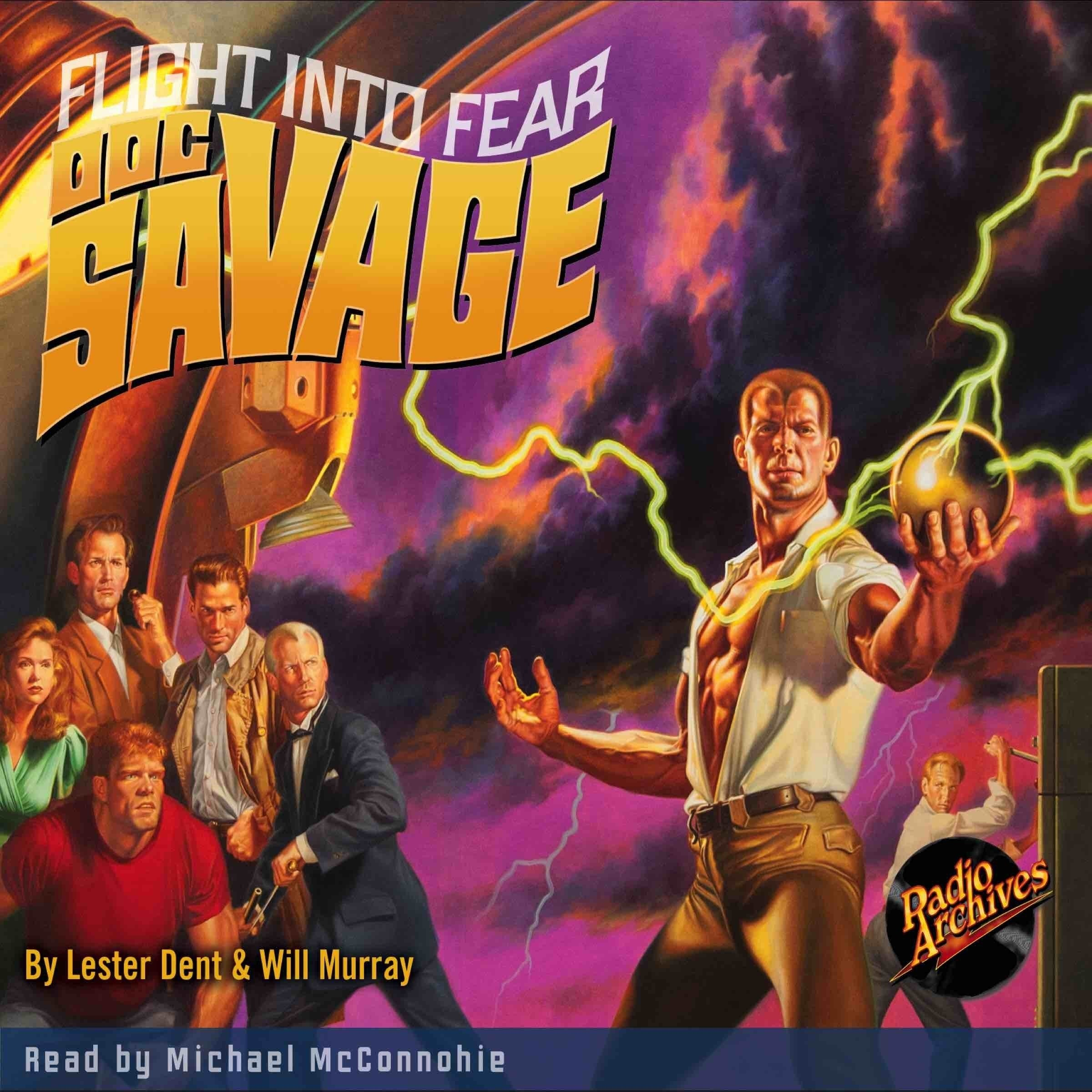 Printable Doc Savage #1: Flight Into Fear Audiobook Cover Art