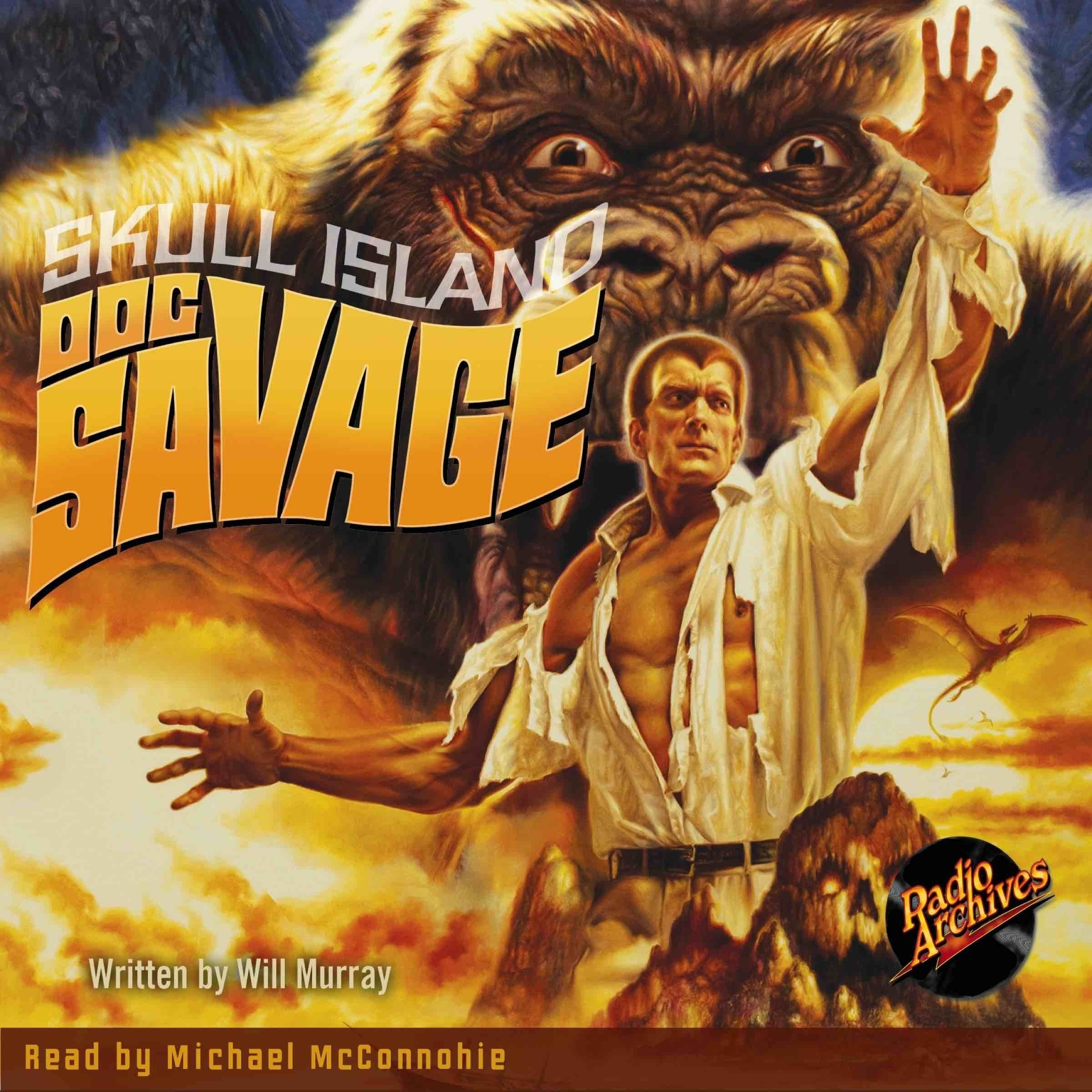Printable Doc Savage #3: Skull Island Audiobook Cover Art