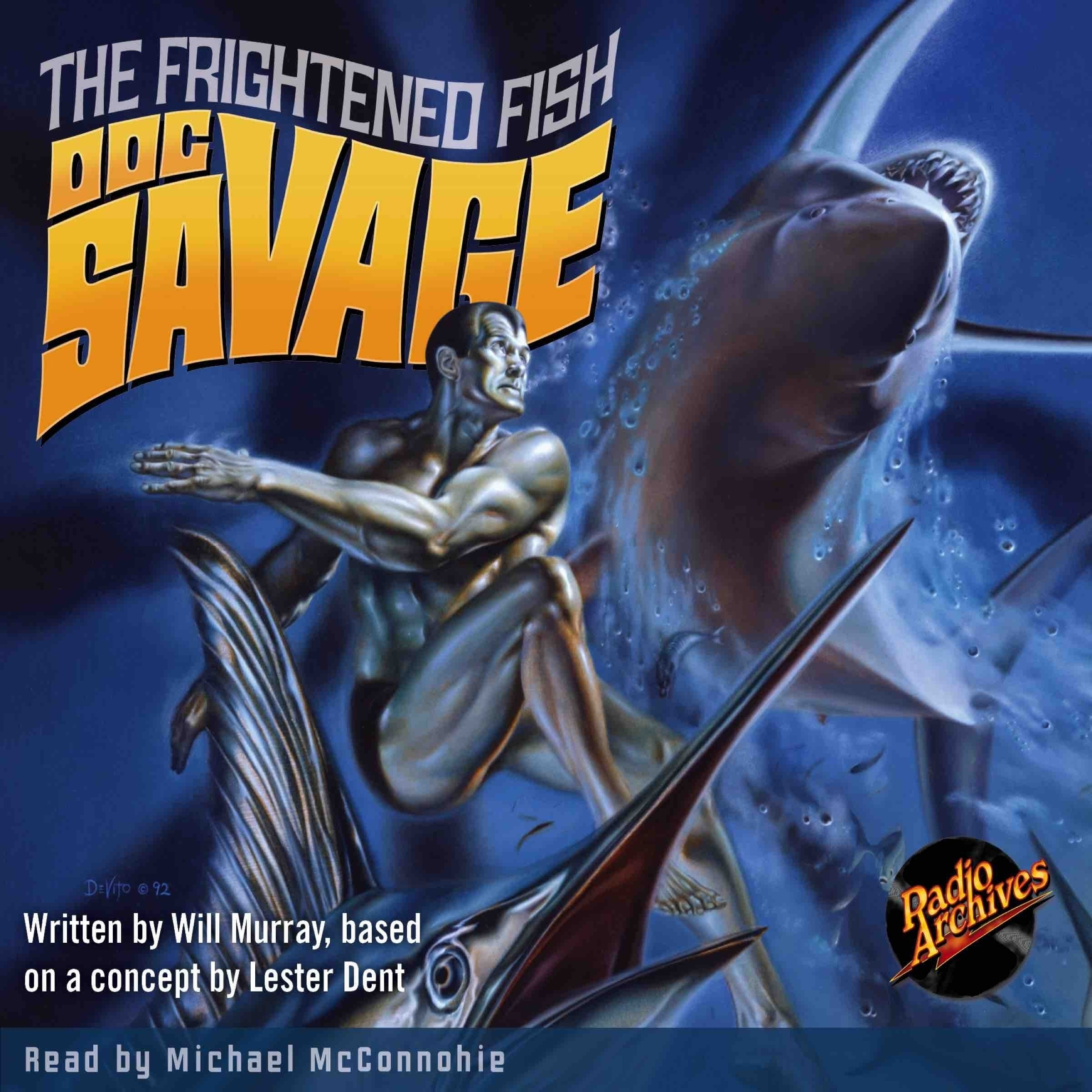 Printable Doc Savage #6: The Frightened Fish Audiobook Cover Art
