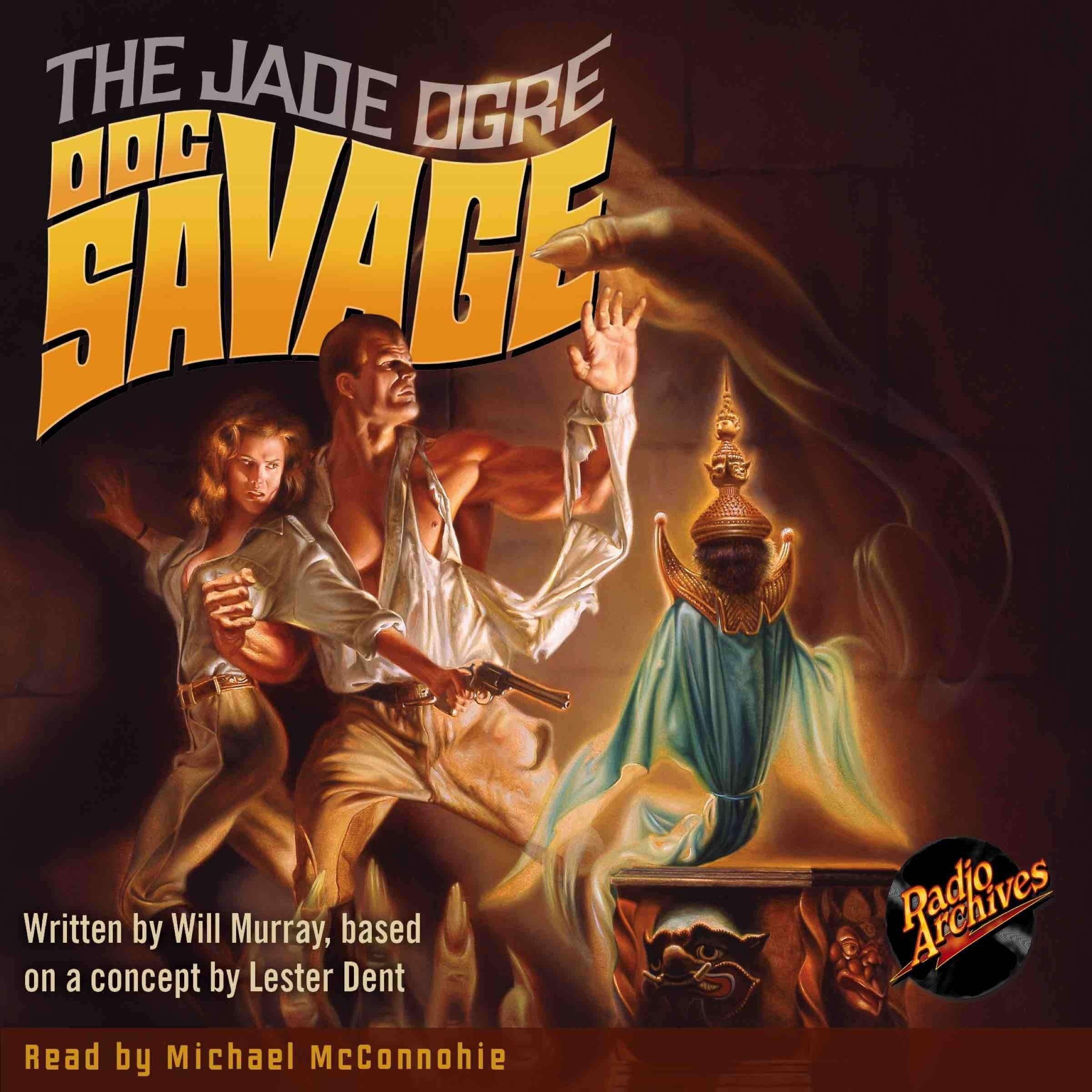 Printable Doc Savage #7: The Jade Ogre Audiobook Cover Art