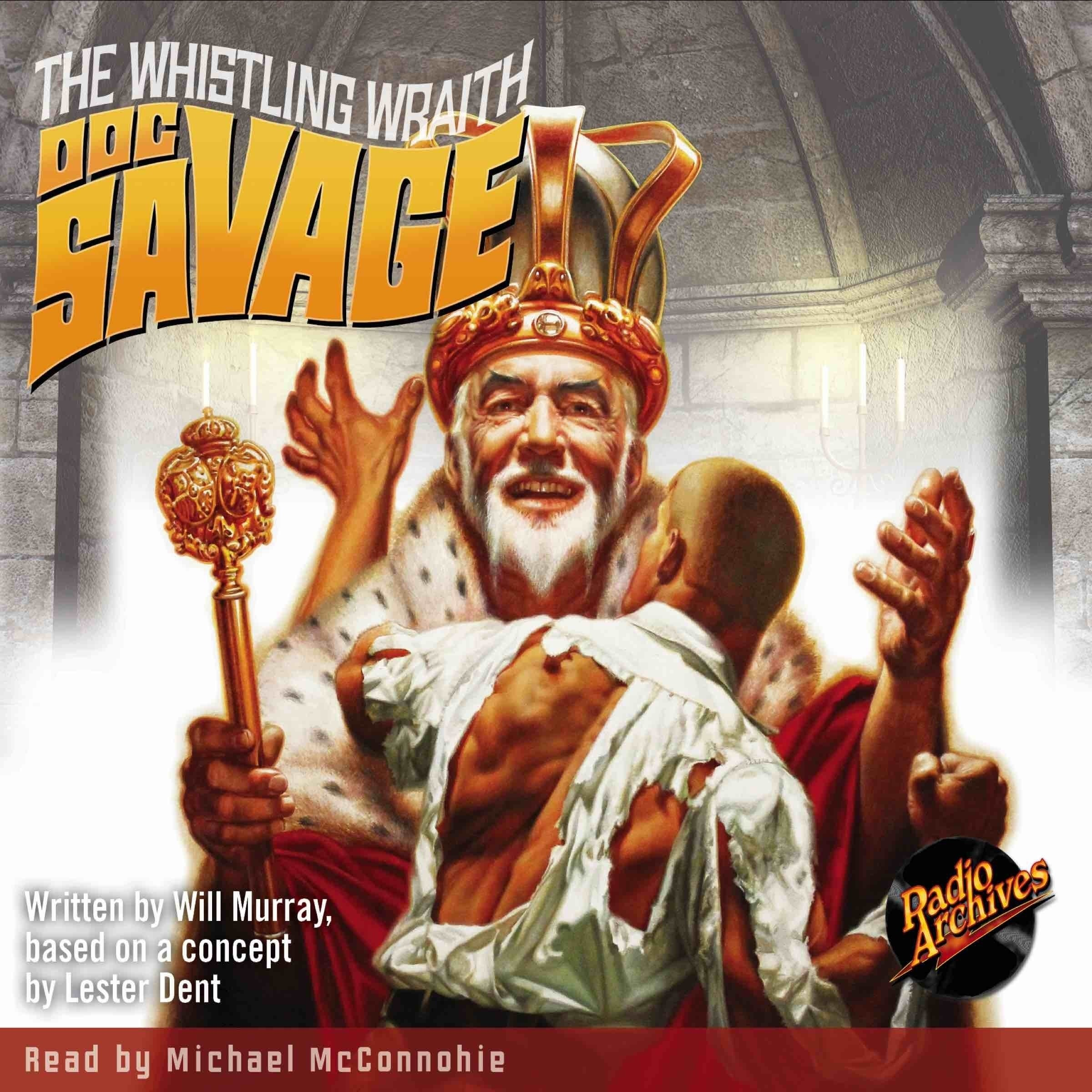 Printable Doc Savage #8: The Whistling Wraith Audiobook Cover Art