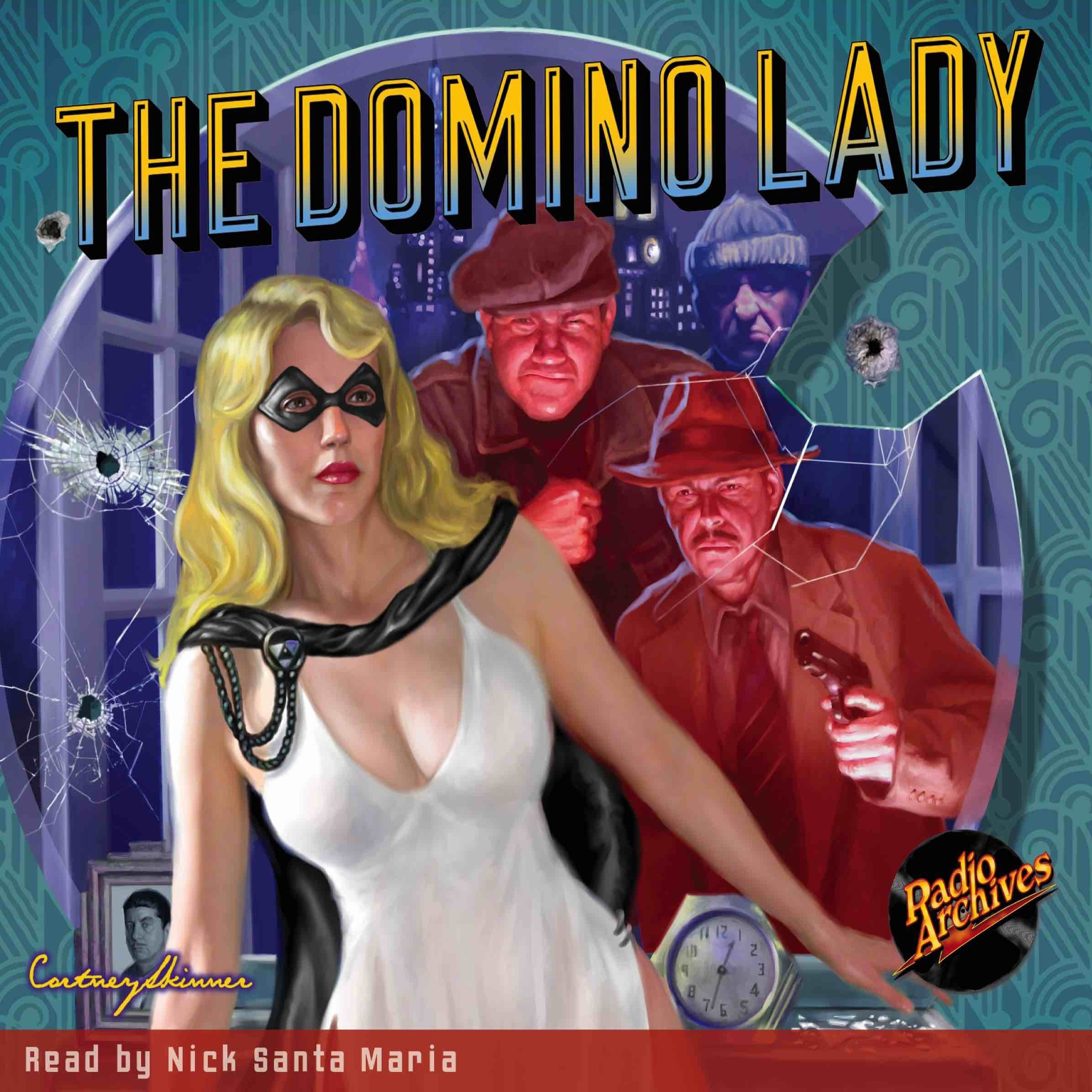 Printable The Domino Lady Audiobook Cover Art