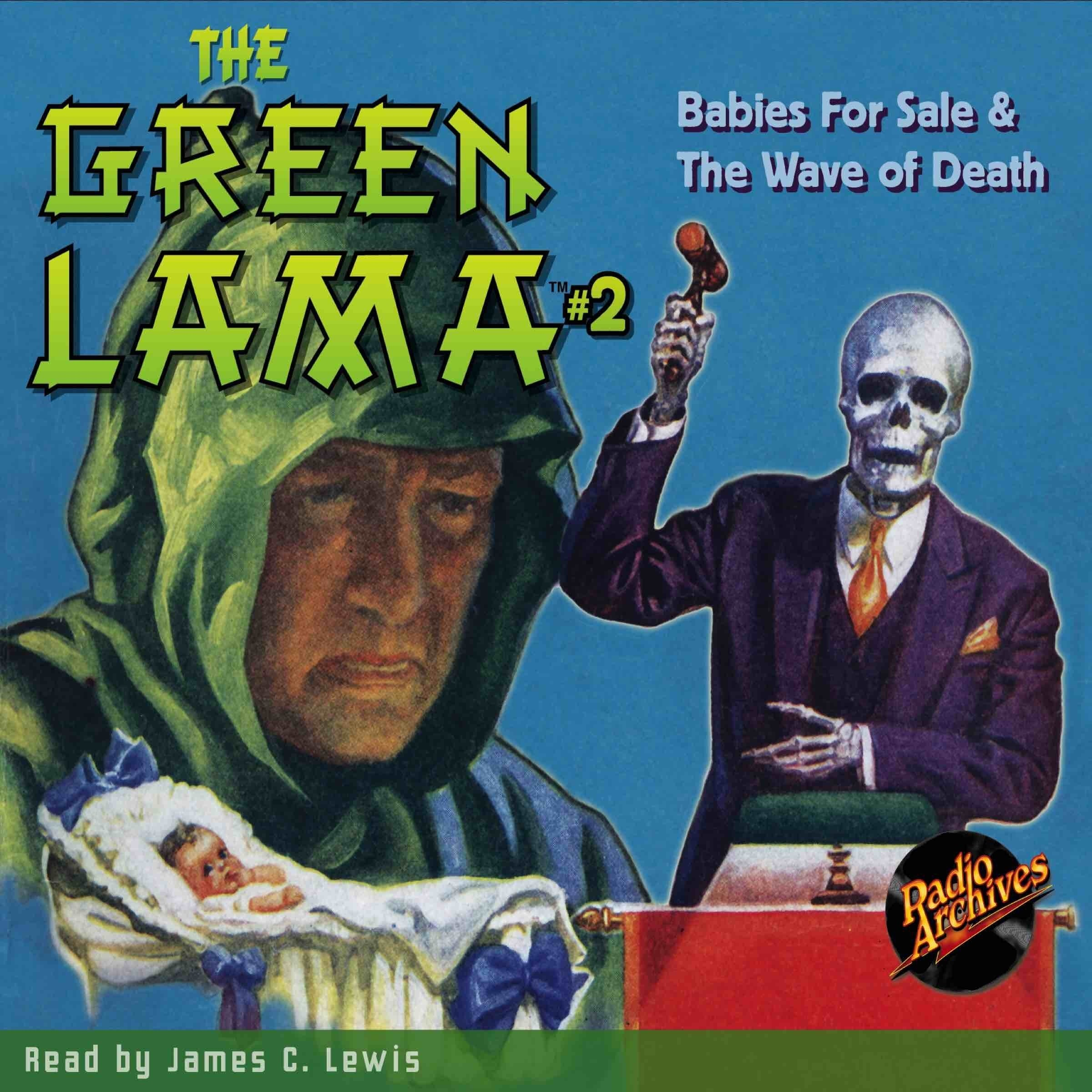 Printable The Green Lama #2: Babies for Sale & The Wave of Death Audiobook Cover Art
