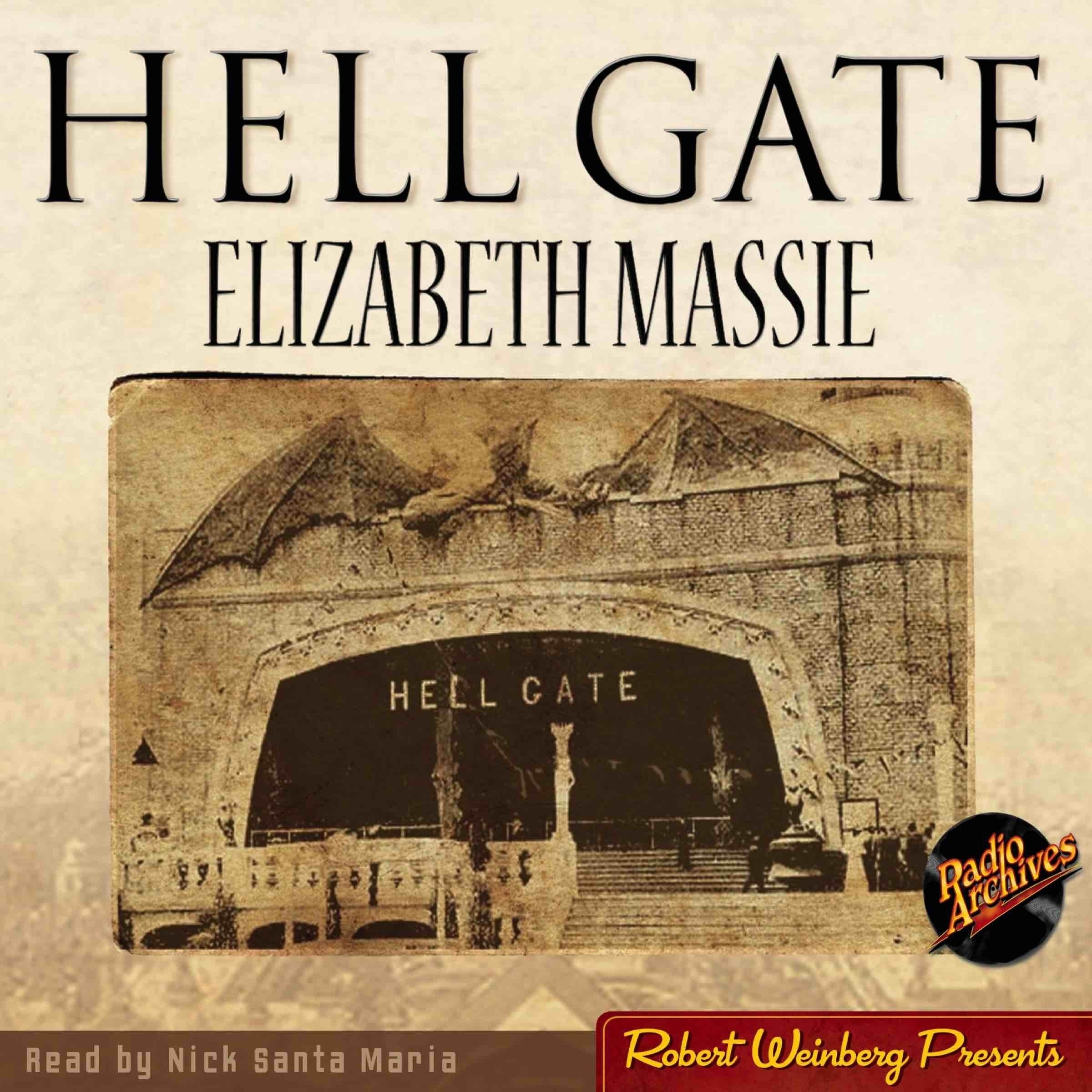 Printable Hell Gate Audiobook Cover Art