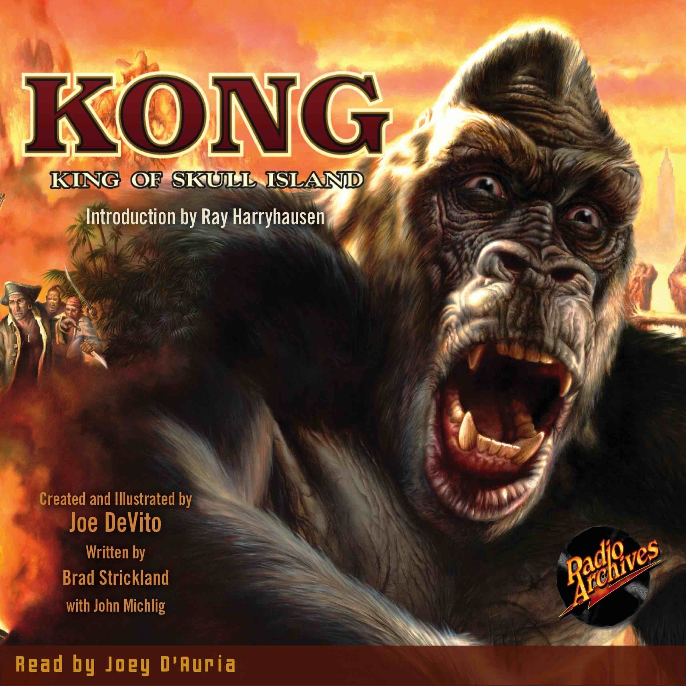 Printable Kong: King of Skull Island Audiobook Cover Art