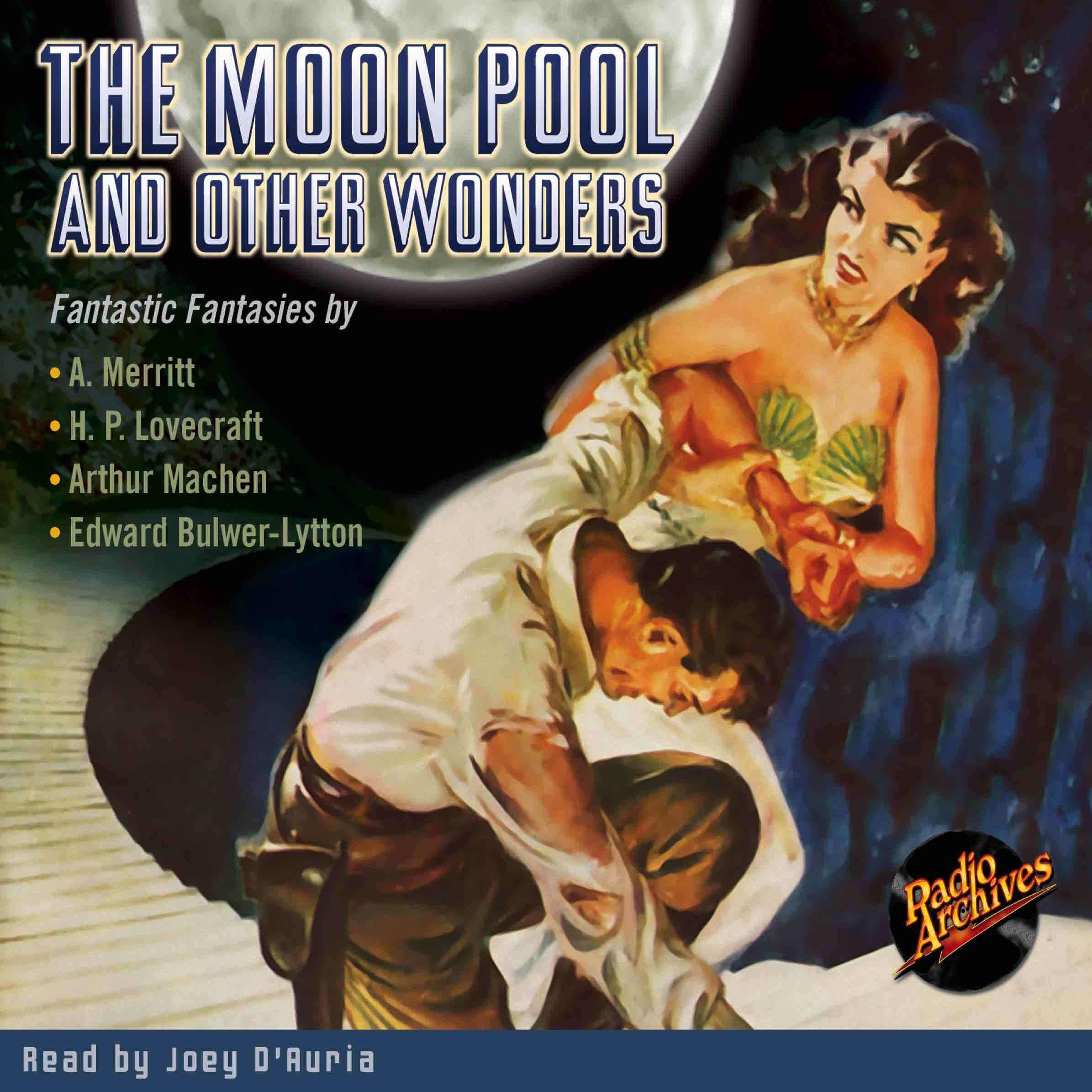 Printable The Moon Pool and Other Wonders Audiobook Cover Art