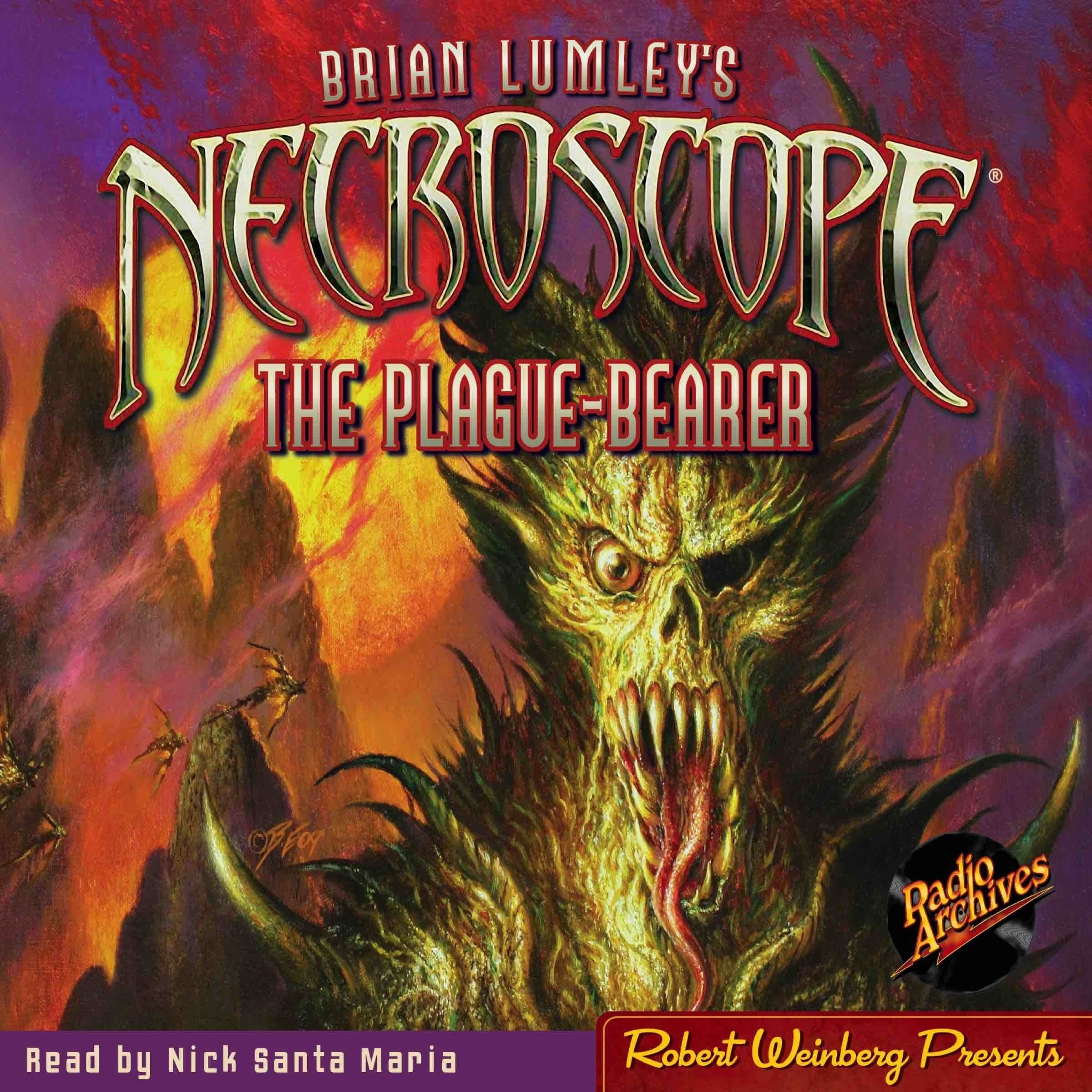 Printable Necroscope #2: The Plague-Bearer Audiobook Cover Art