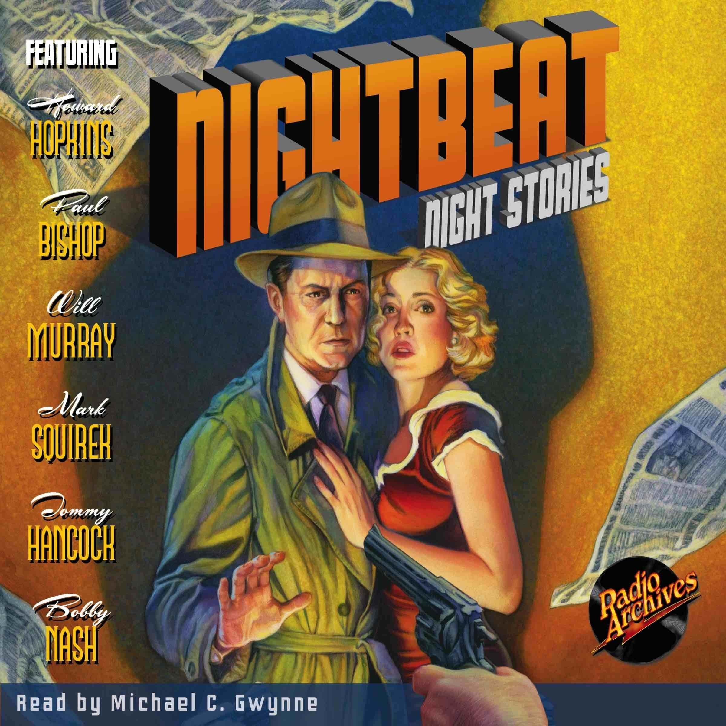 Printable Nightbeat: Night Stories Audiobook Cover Art