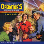 Operator #5 V15: Invasion of the Yellow Warlords Audiobook, by Curtis Steele