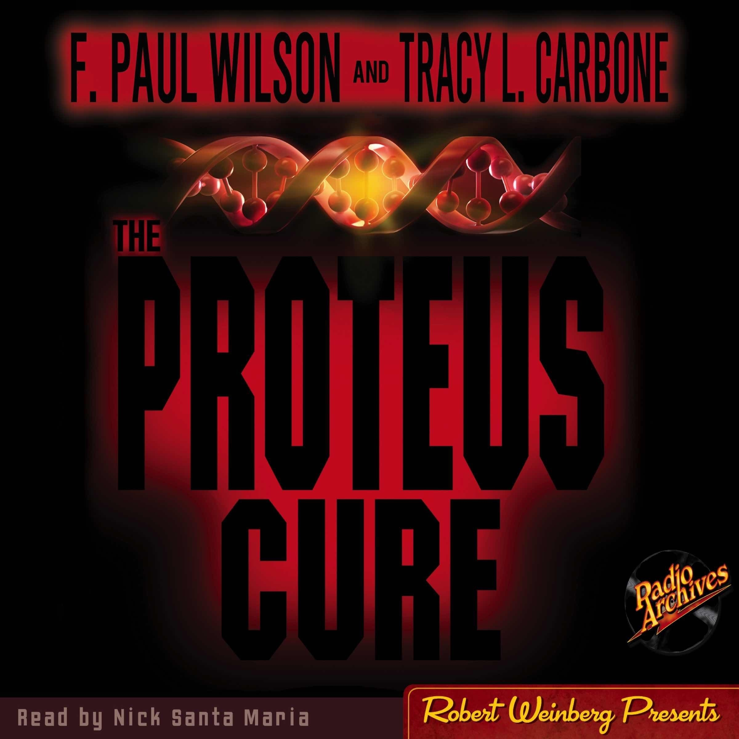 Printable Proteus Cure Audiobook Cover Art