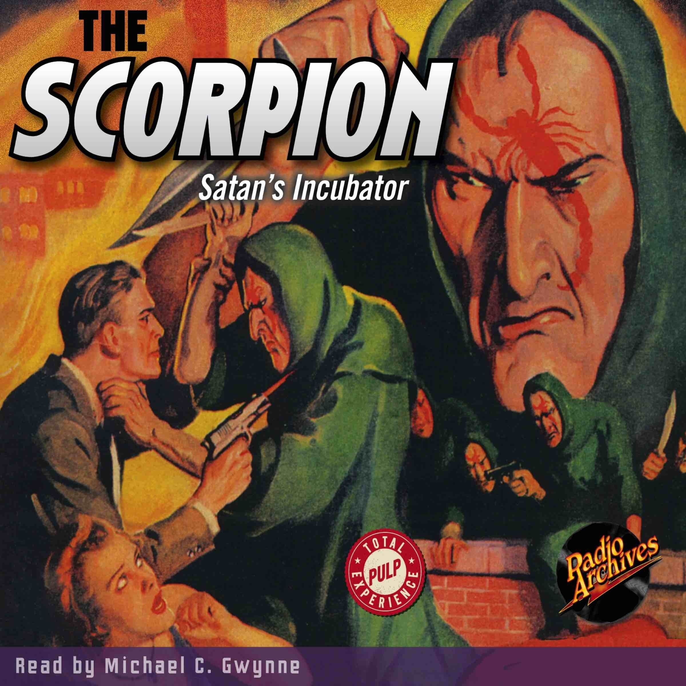 Printable The Scorpion: Satan's Incubator Audiobook Cover Art