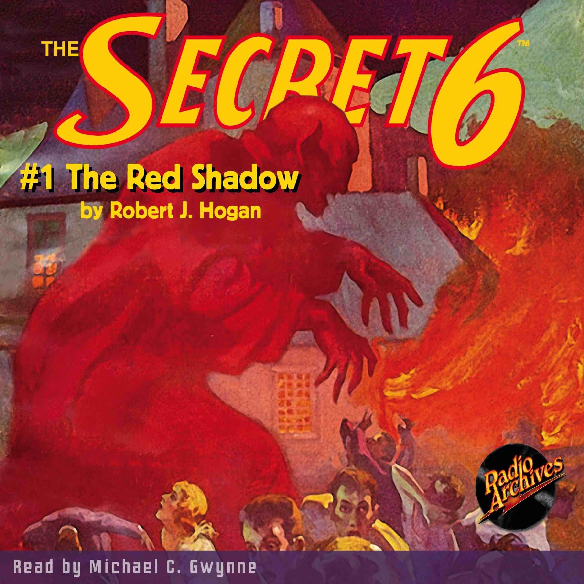 Printable Secret 6 #1, The: The Red Shadow Audiobook Cover Art