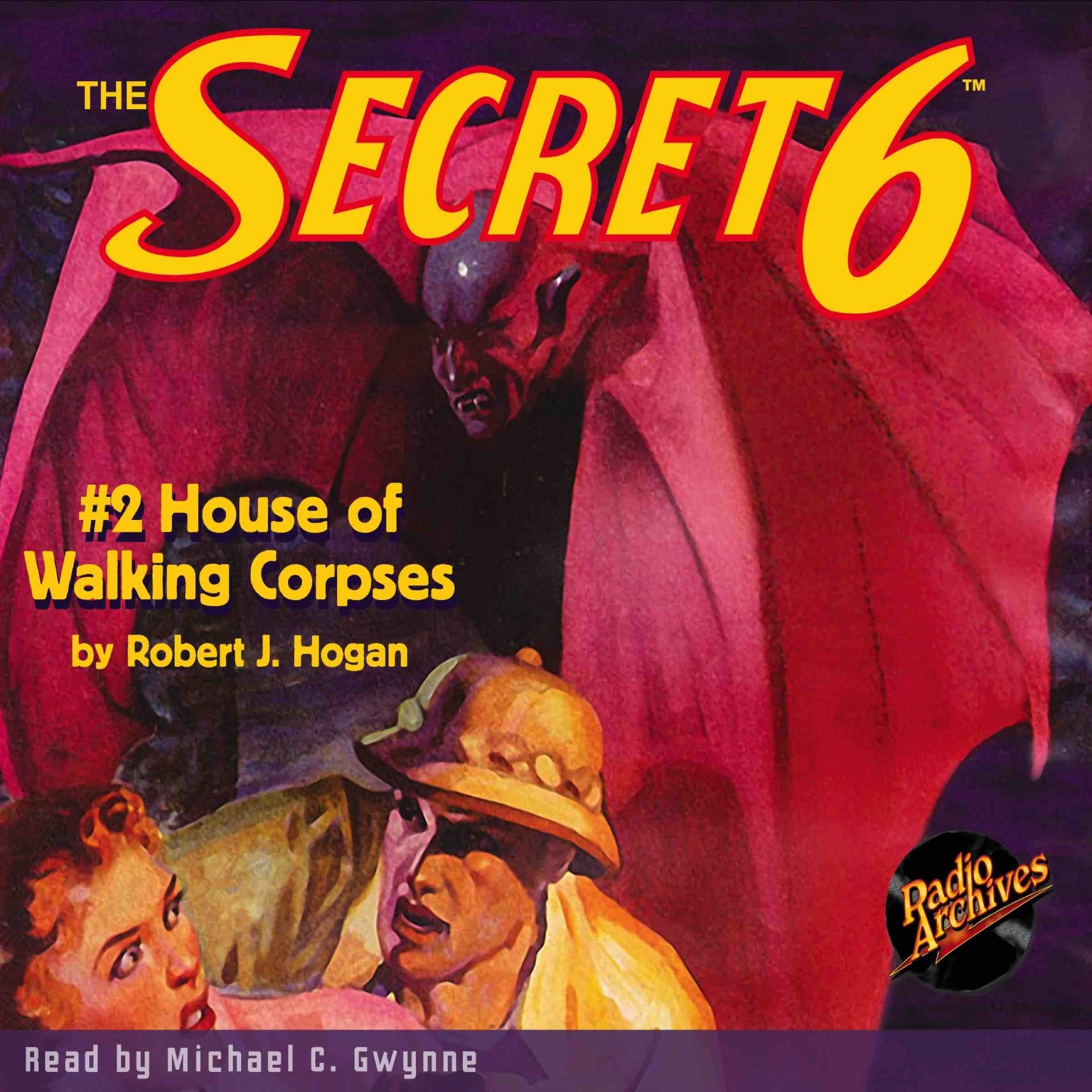 Printable Secret 6 #2, The: House of Walking Corpses Audiobook Cover Art