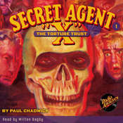 Secret Agent X: The Torture Trust Audiobook, by Paul Chadwick