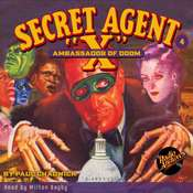 Secret Agent X: The Ambassador of Doom Audiobook, by Paul Chadwick
