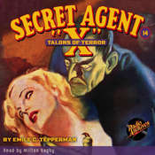 Secret Agent X: Talons of Terror Audiobook, by Emile C. Tepperman