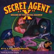 Secret Agent X: Brand of the Metal Maiden, by G. T. Fleming-Roberts