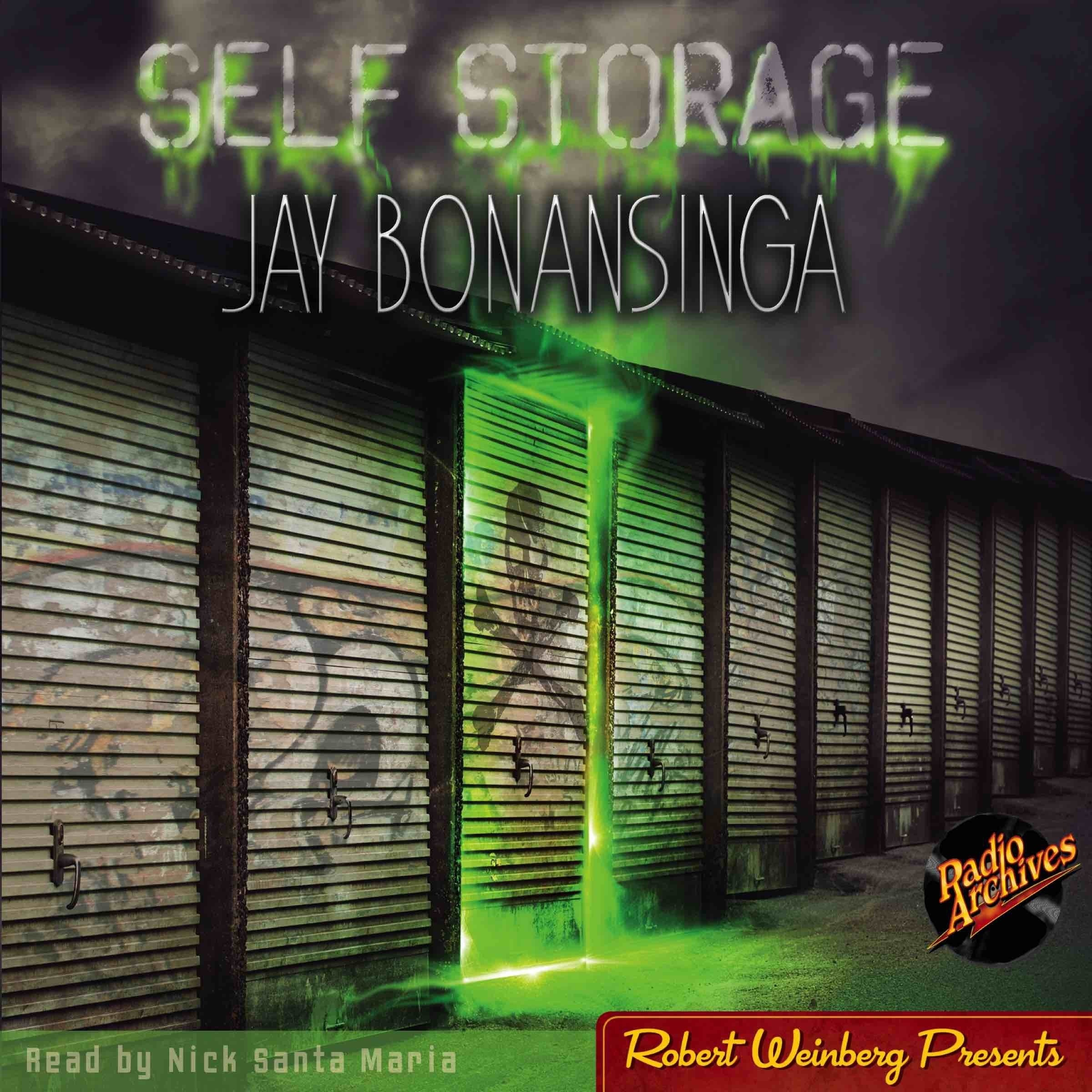 Printable Self Storage Audiobook Cover Art