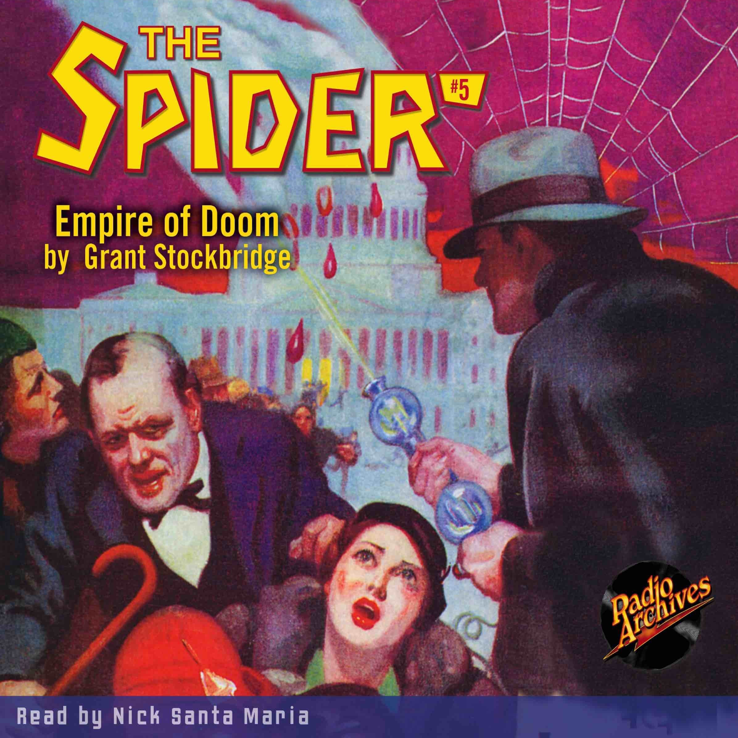 Printable Spider #5, The: Empire of Doom Audiobook Cover Art