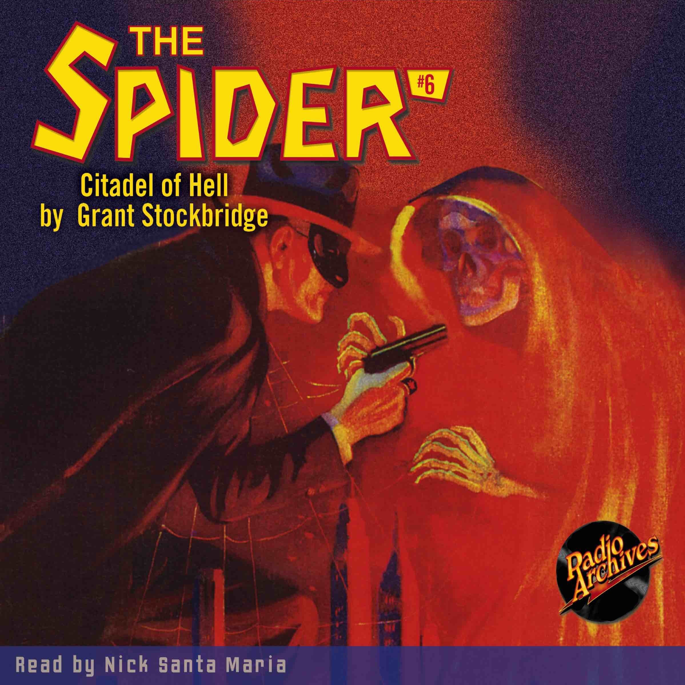 Printable Spider #6, The: The Citadel of Hell Audiobook Cover Art