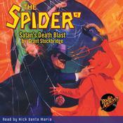 Spider #9, The: Satans Death Blast Audiobook, by Grant Stockbridge