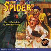 Spider #15, The: The Red Death Rain Audiobook, by Grant Stockbridge