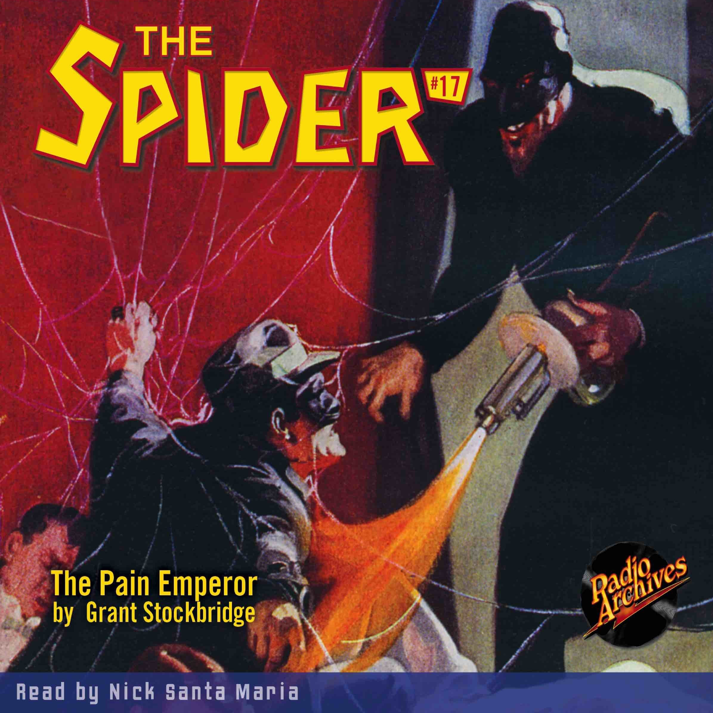 Printable Spider #17, The: The Pain Emperor Audiobook Cover Art