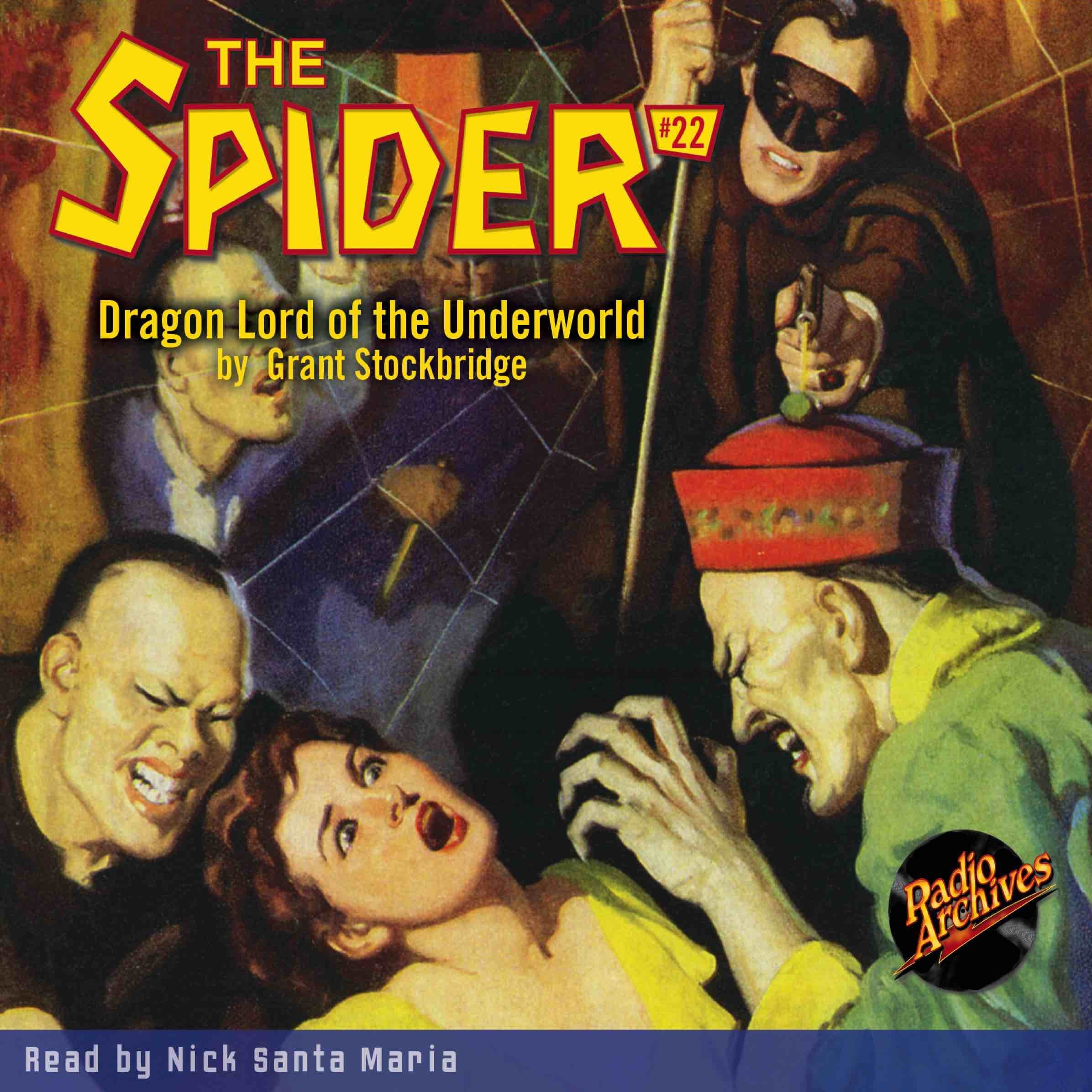 Printable Spider #22, The: Dragon Lord of the Underworld Audiobook Cover Art
