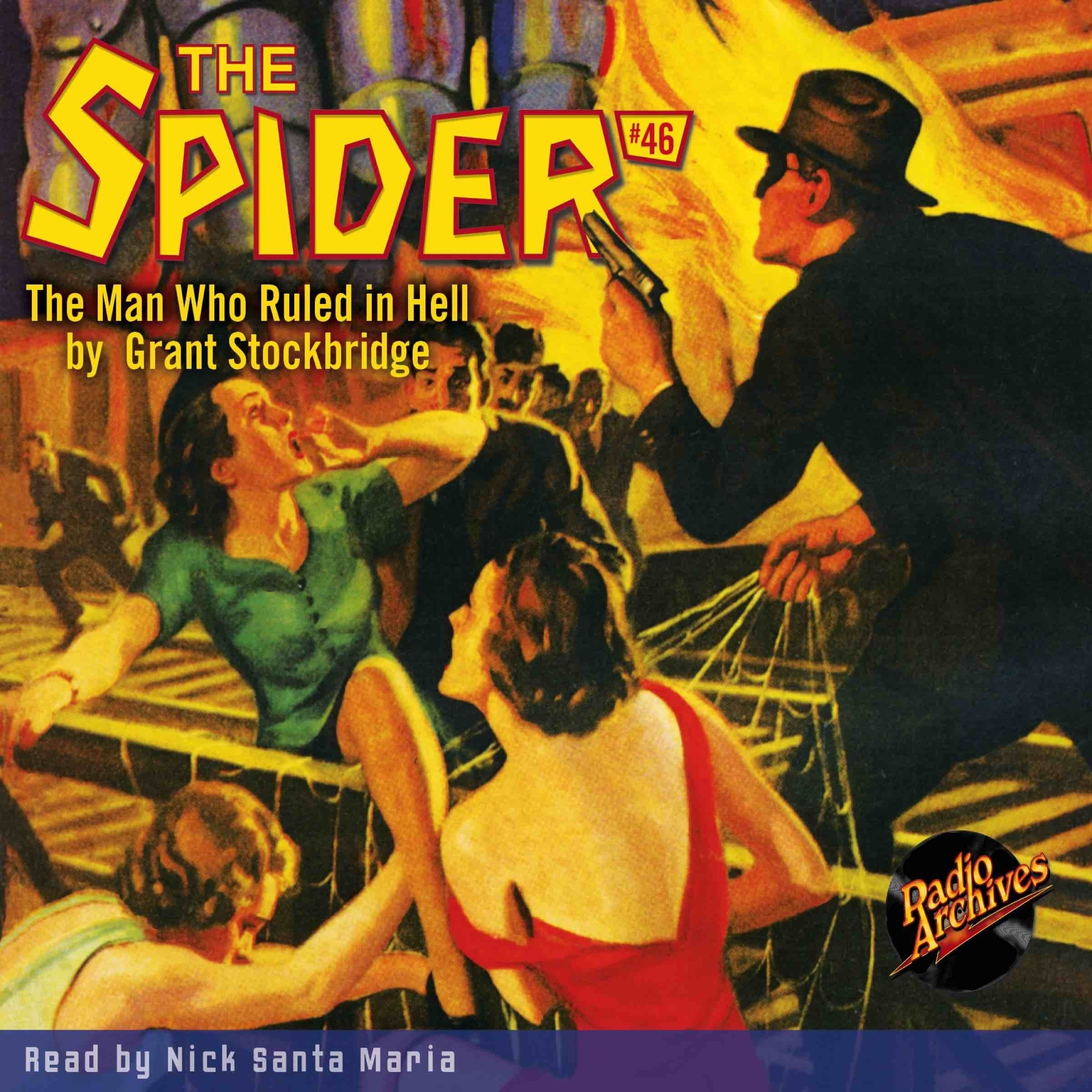 Printable Spider #46, The: The Man Who Ruled in Hell Audiobook Cover Art
