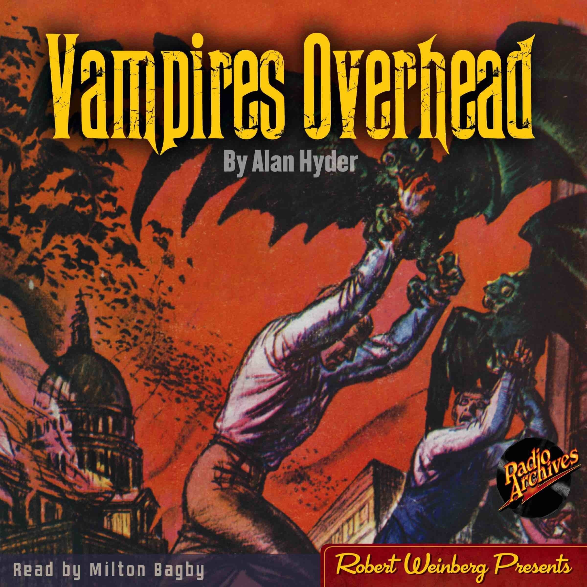 Printable Vampires Overhead Audiobook Cover Art